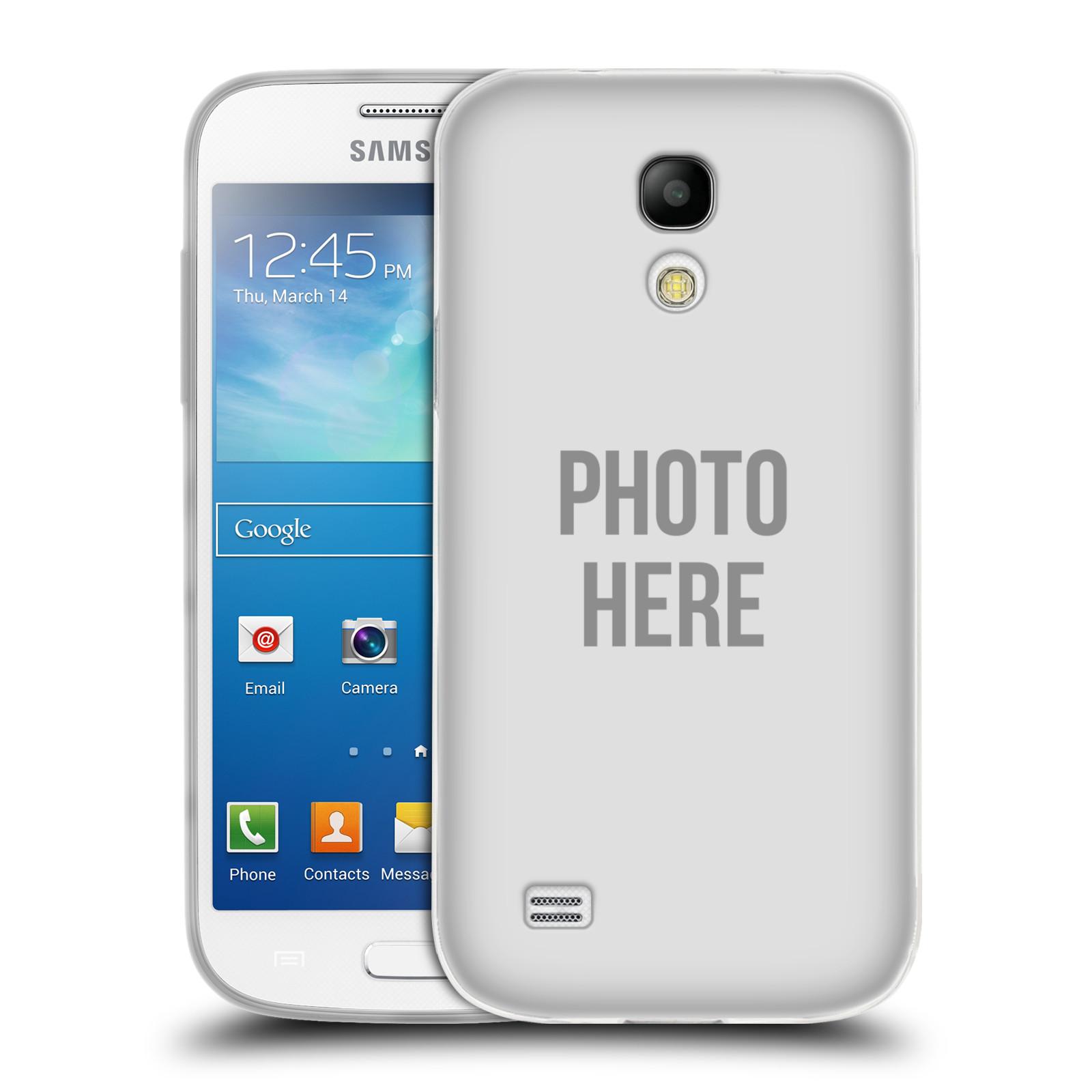 Silikonové pouzdro na mobil Samsung Galaxy S4 Mini VE HEAD CASE s vlastním motivem