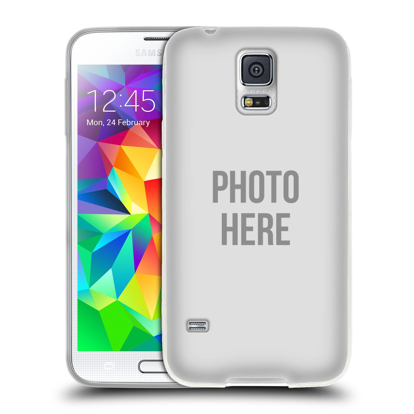 Silikonové pouzdro na mobil Samsung Galaxy S5 HEAD CASE s vlastním motivem