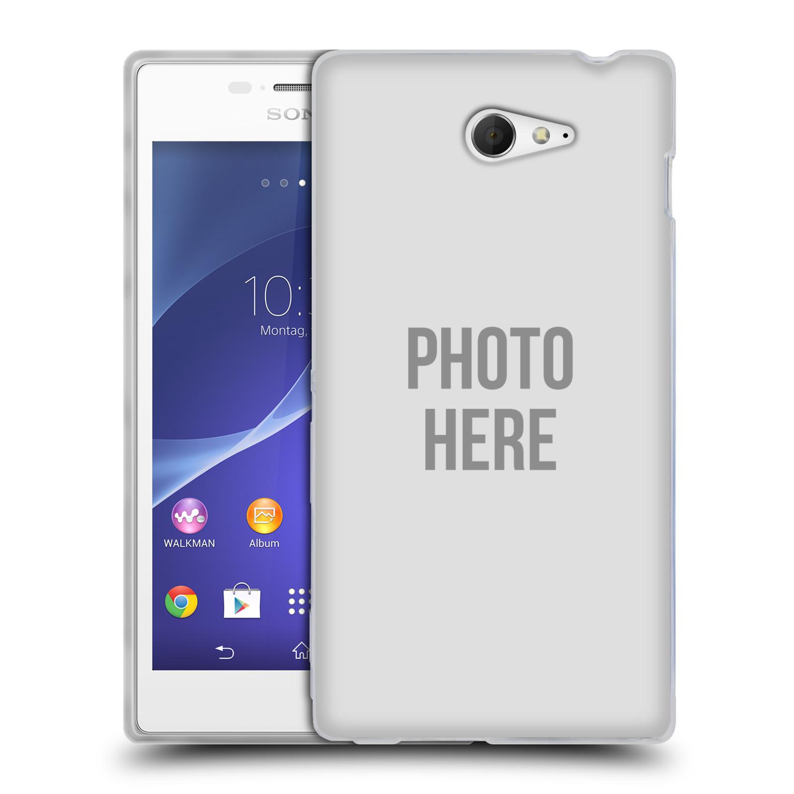 Silikonové pouzdro na mobil Sony Xperia M2 D2303 HEAD CASE s vlastním motivem (Silikonový Kryt či obal s vlastní fotografií na mobilní telefon Sony Xperia M2)