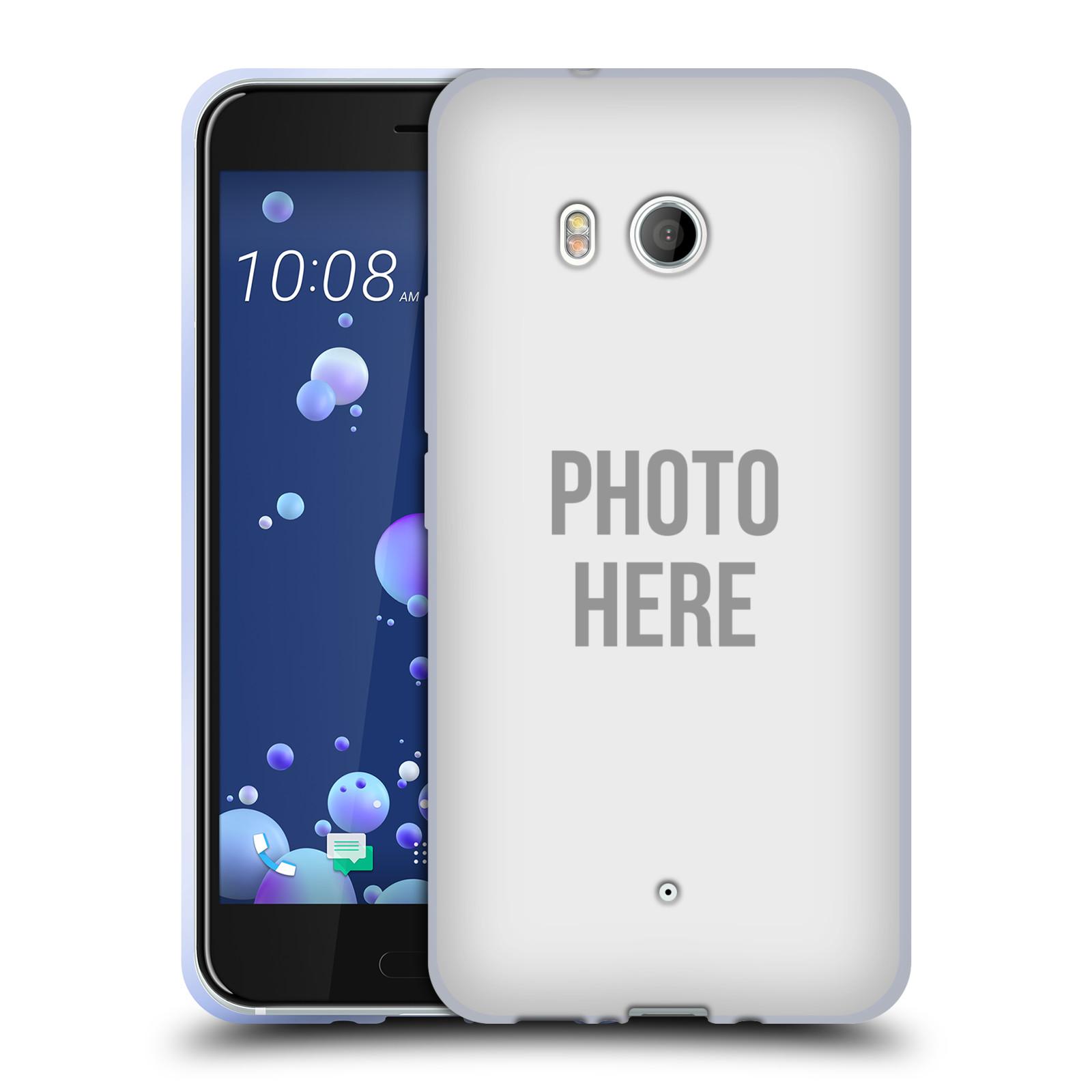 Silikonové pouzdro na mobil HTC U11 - Head Case - s vlastním motivem