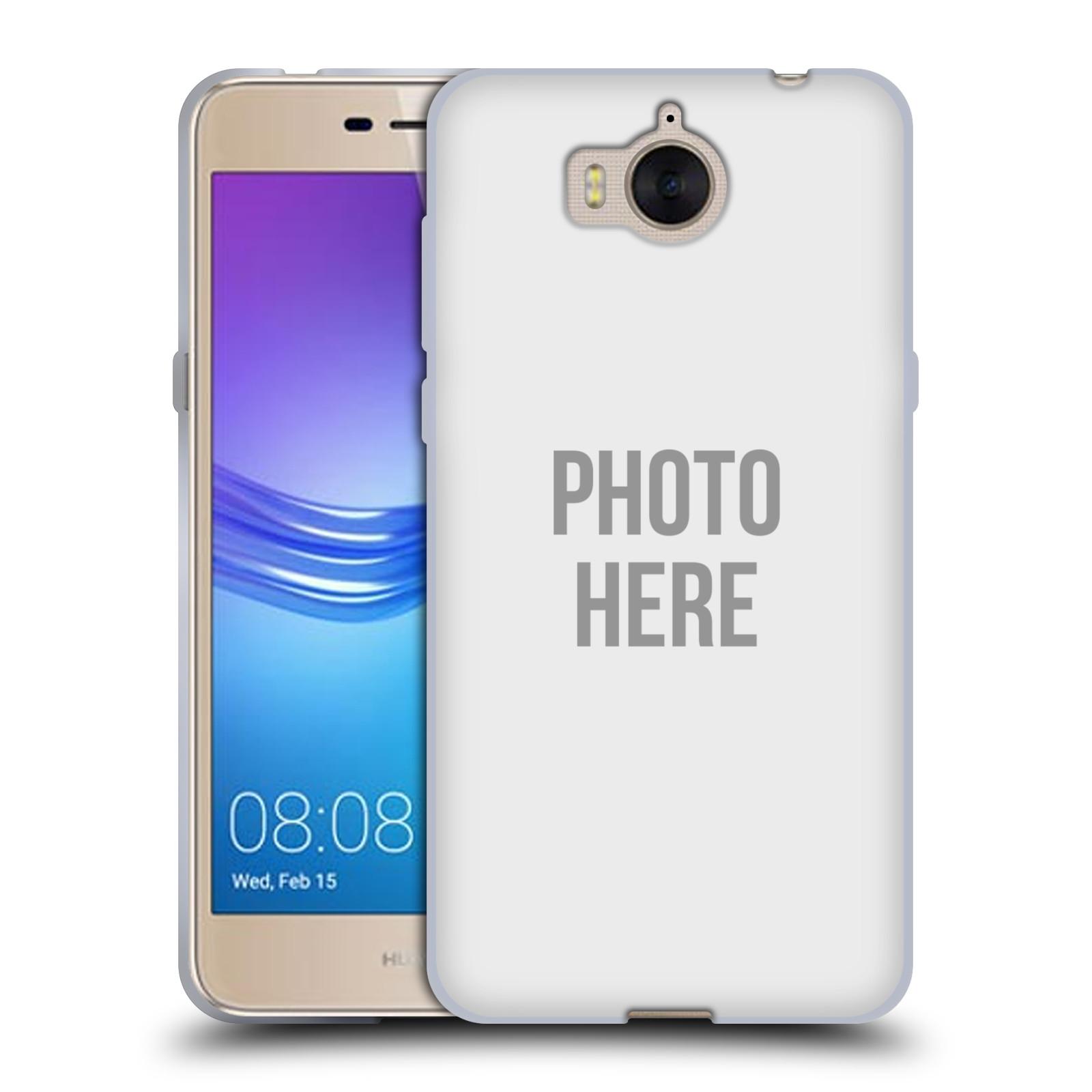 Silikonové pouzdro na mobil Huawei Y6 2017 - Head Case - s vlastním motivem