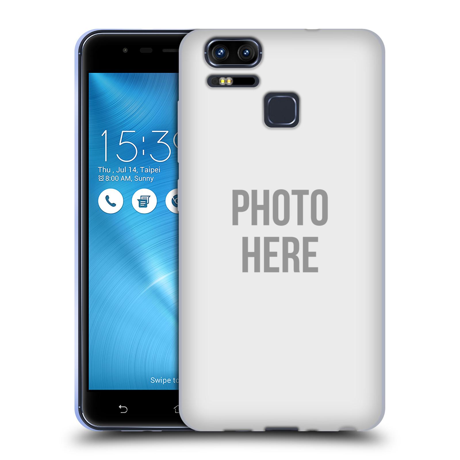 Silikonové pouzdro na mobil Asus ZenFone 3 ZOOM ZE553KL - Head Case - s vlastním motivem