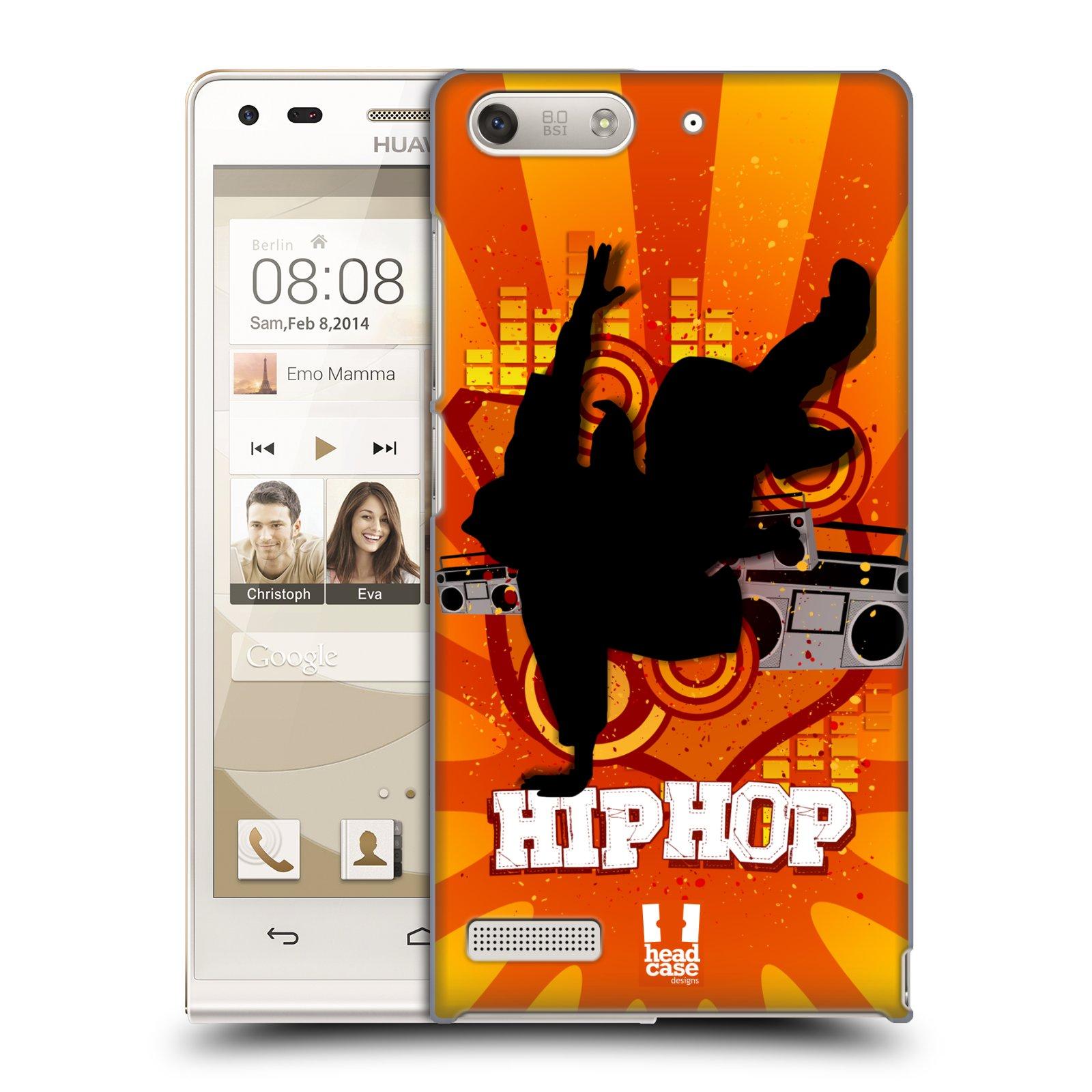 Plastové pouzdro na mobil Huawei Ascend G6 HEAD CASE HIP HOP (Kryt či obal na mobilní telefon Huawei Ascend G6 bez LTE)
