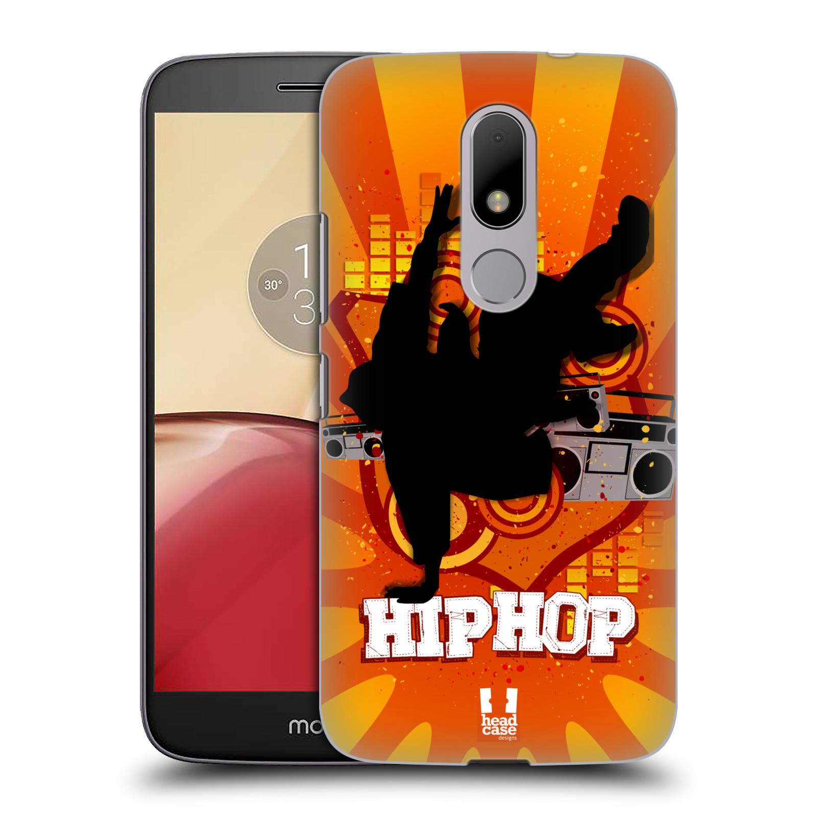 Plastové pouzdro na mobil Lenovo Moto M HEAD CASE HIP HOP (Plastový kryt či obal na mobilní telefon Lenovo (Motorola) Moto M / Moto M Dual SIM)
