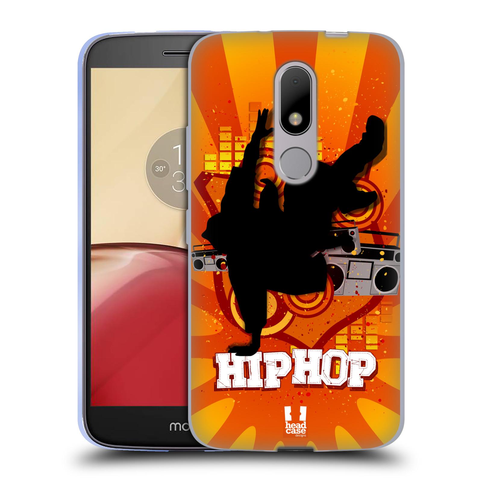 Silikonové pouzdro na mobil Lenovo Moto M - Head Case HIP HOP (Silikonový kryt či obal na mobilní telefon Lenovo Moto M (Dual Sim))