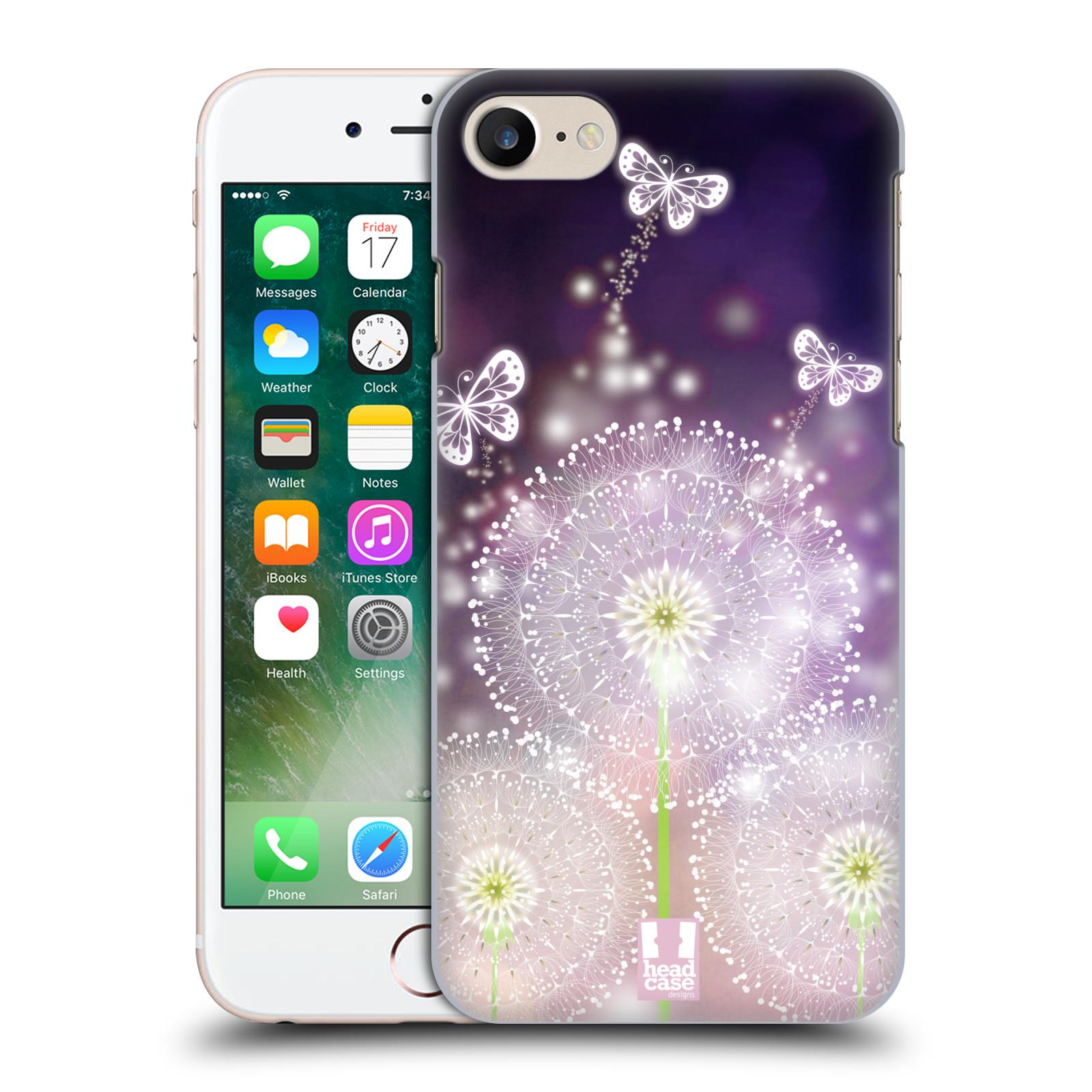 Plastové pouzdro na mobil Apple iPhone 7 HEAD CASE Pampelišky a Motýlci