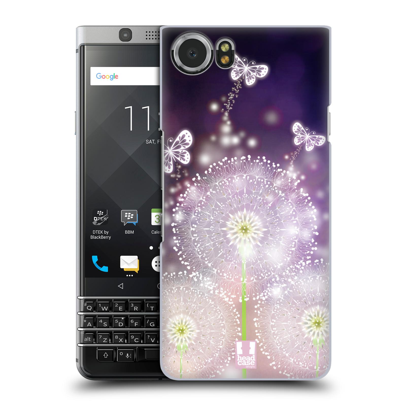 Plastové pouzdro na mobil BlackBerry KEYone - Head Case - Pampelišky a Motýlci