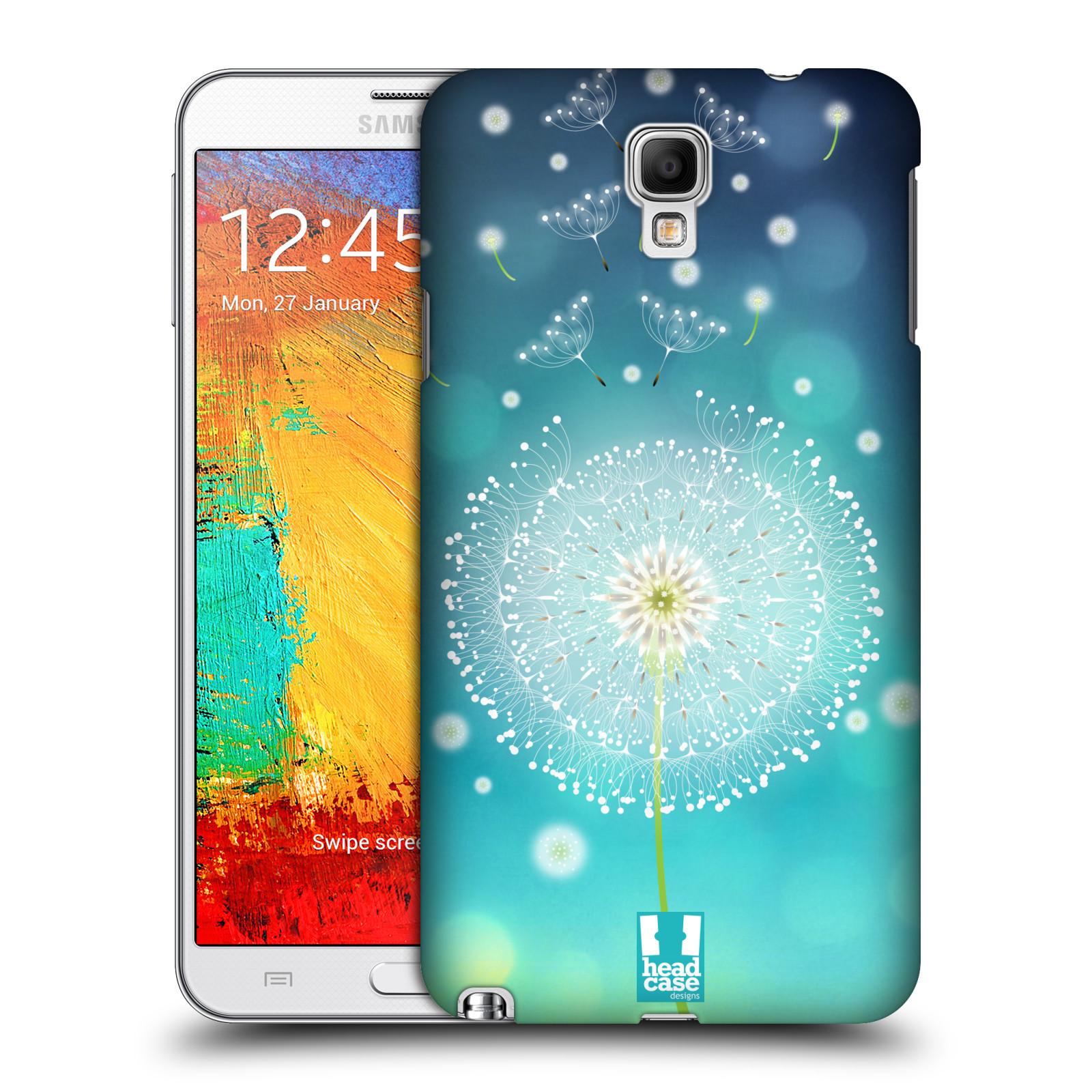Plastové pouzdro na mobil Samsung Galaxy Note 3 Neo HEAD CASE Rozlétaná pampeliška (Kryt či obal na mobilní telefon Samsung Galaxy Note 3 Neo SM-N7505)