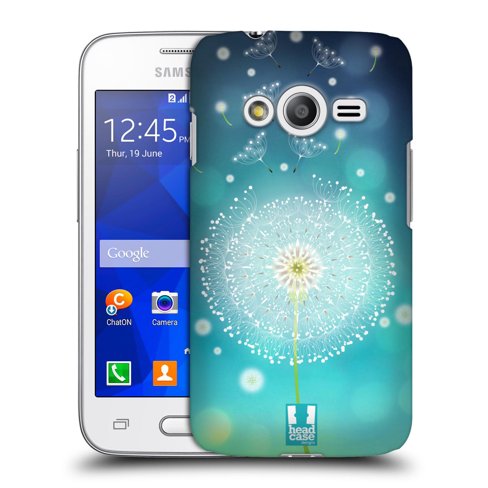 Plastové pouzdro na mobil Samsung Galaxy Trend 2 Lite HEAD CASE Rozlétaná pampeliška (Kryt či obal na mobilní telefon Samsung Galaxy Trend 2 Lite SM-G318)