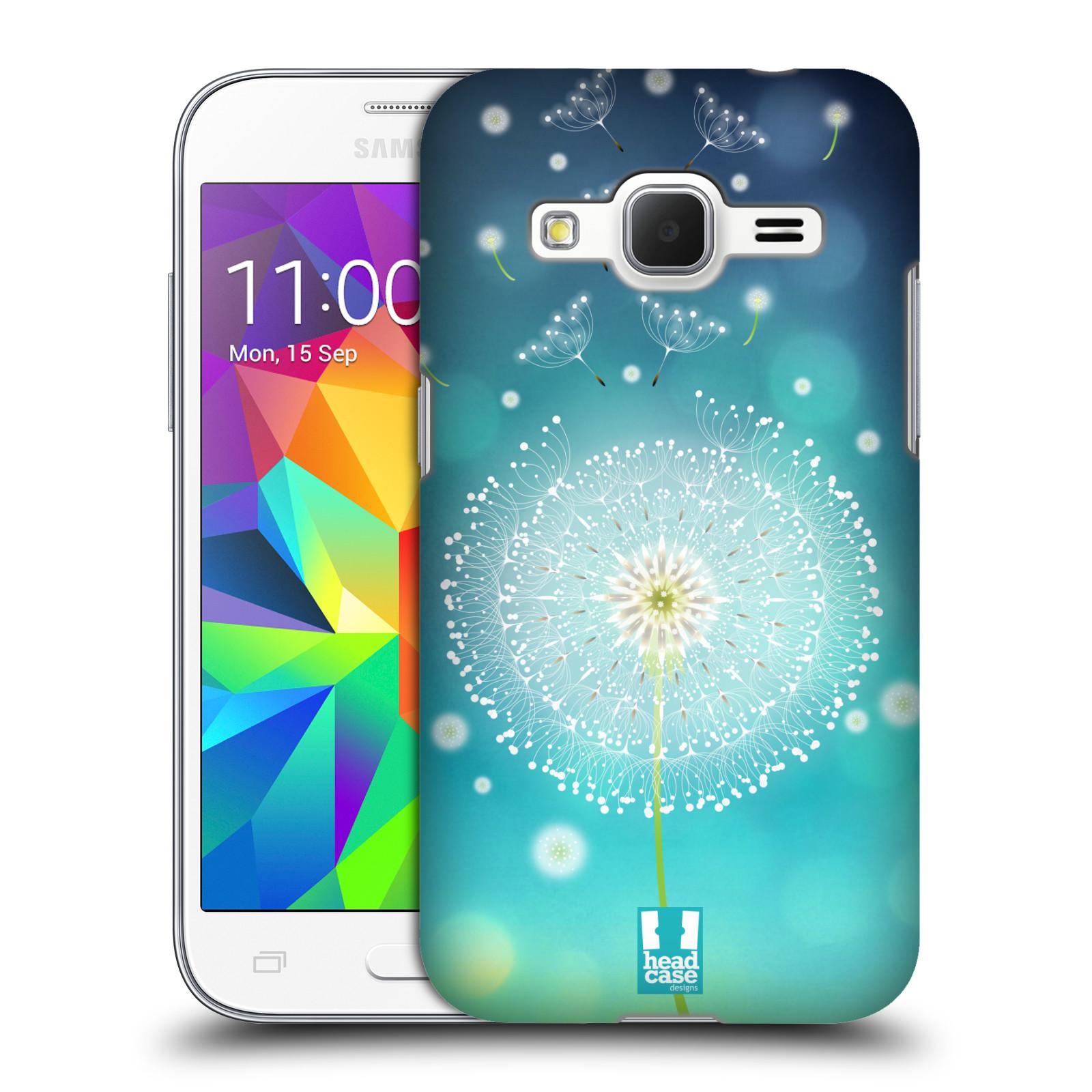 Plastové pouzdro na mobil Samsung Galaxy Core Prime LTE HEAD CASE Rozlétaná pampeliška (Kryt či obal na mobilní telefon Samsung Galaxy Core Prime LTE SM-G360)