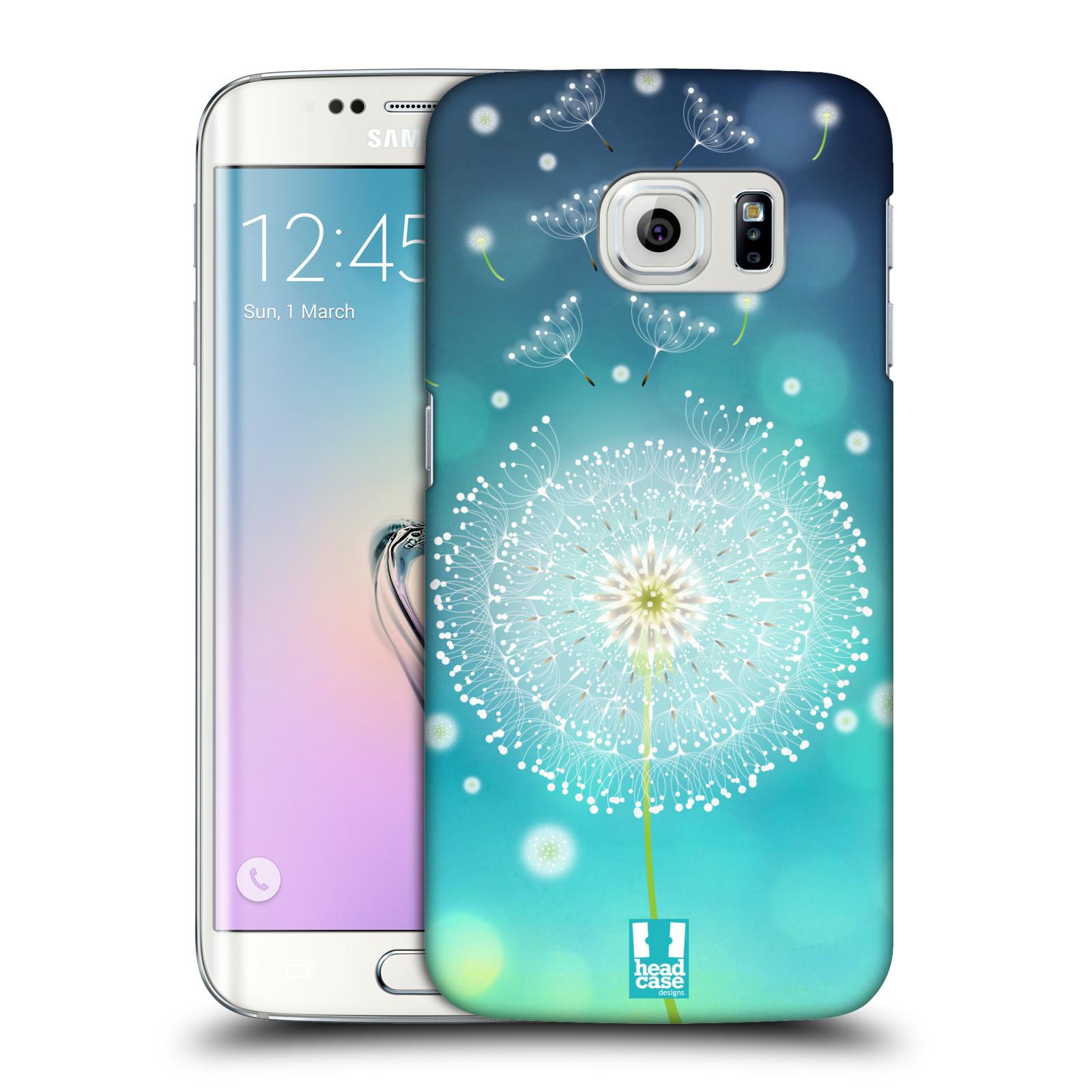 Plastové pouzdro na mobil Samsung Galaxy S6 Edge HEAD CASE Rozlétaná pampeliška (Kryt či obal na mobilní telefon Samsung Galaxy S6 Edge SM-G925F)
