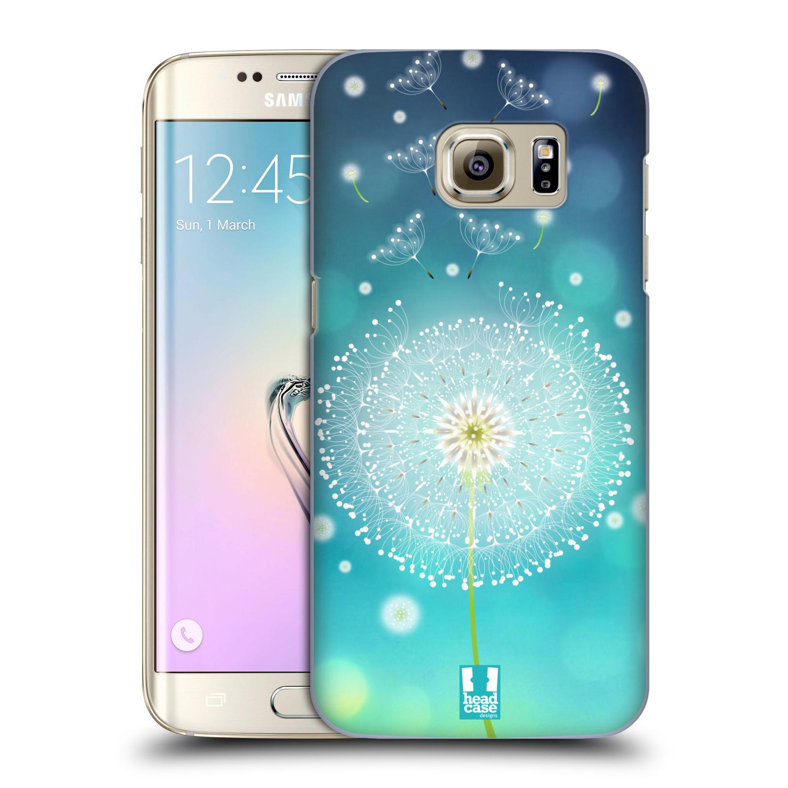 Plastové pouzdro na mobil Samsung Galaxy S7 Edge HEAD CASE Rozlétaná pampeliška (Kryt či obal na mobilní telefon Samsung Galaxy S7 Edge SM-G935F)