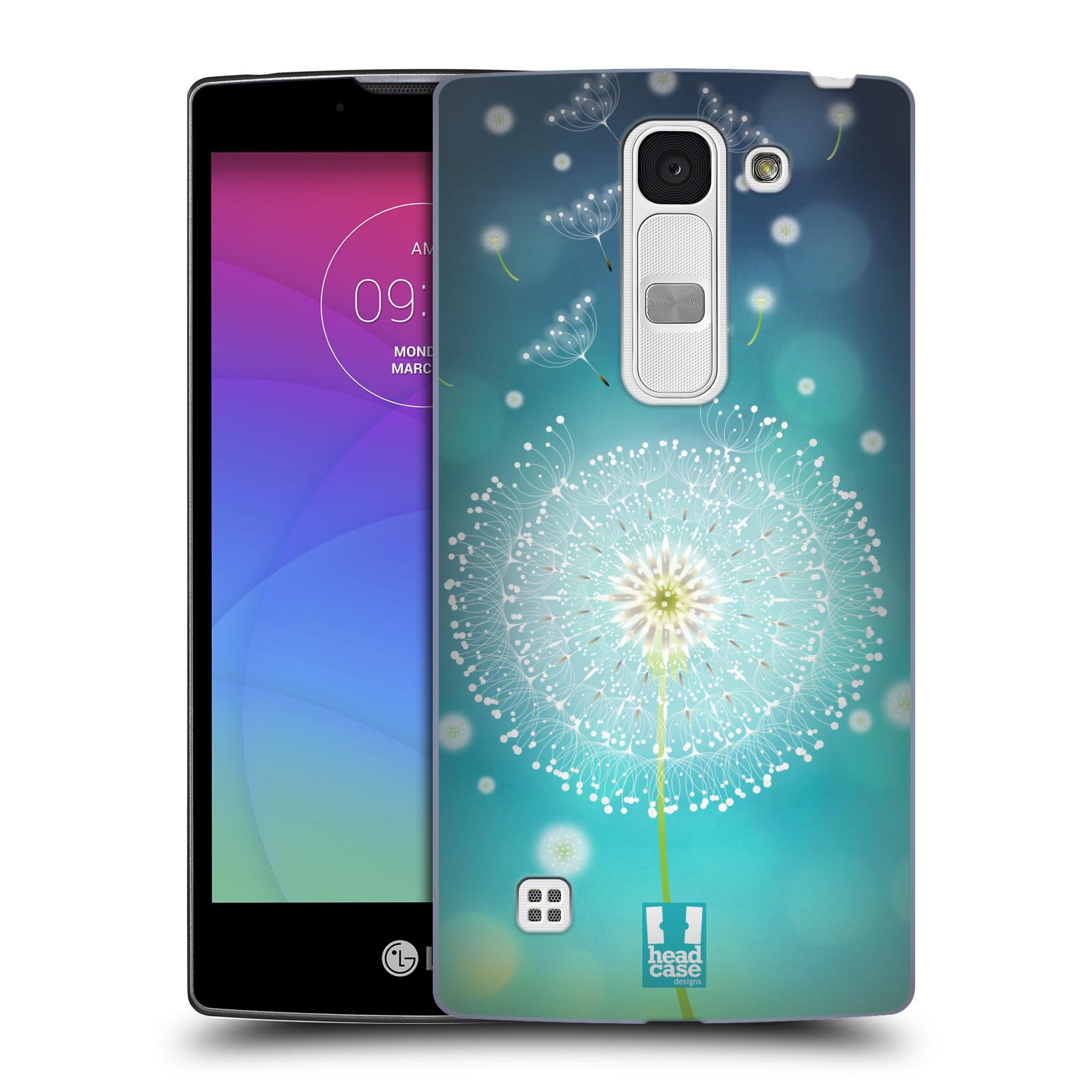 Plastové pouzdro na mobil LG Spirit LTE HEAD CASE Rozlétaná pampeliška (Kryt či obal na mobilní telefon LG Spirit H420 a LG Spirit LTE H440N)