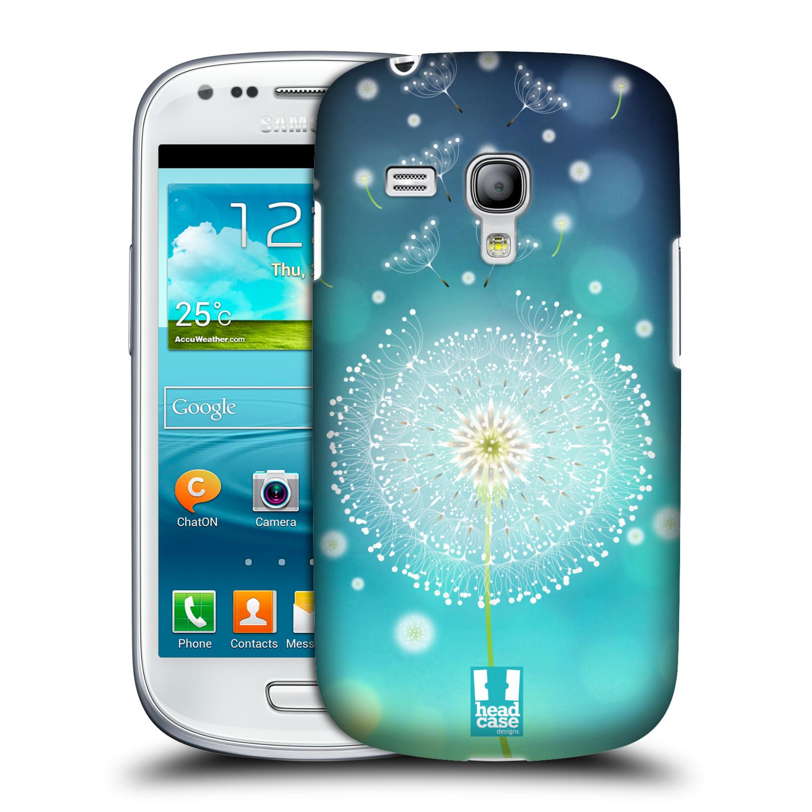 Plastové pouzdro na mobil Samsung Galaxy S III Mini HEAD CASE Rozlétaná pampeliška (Kryt či obal na mobilní telefon Samsung Galaxy S III Mini GT-i8190)