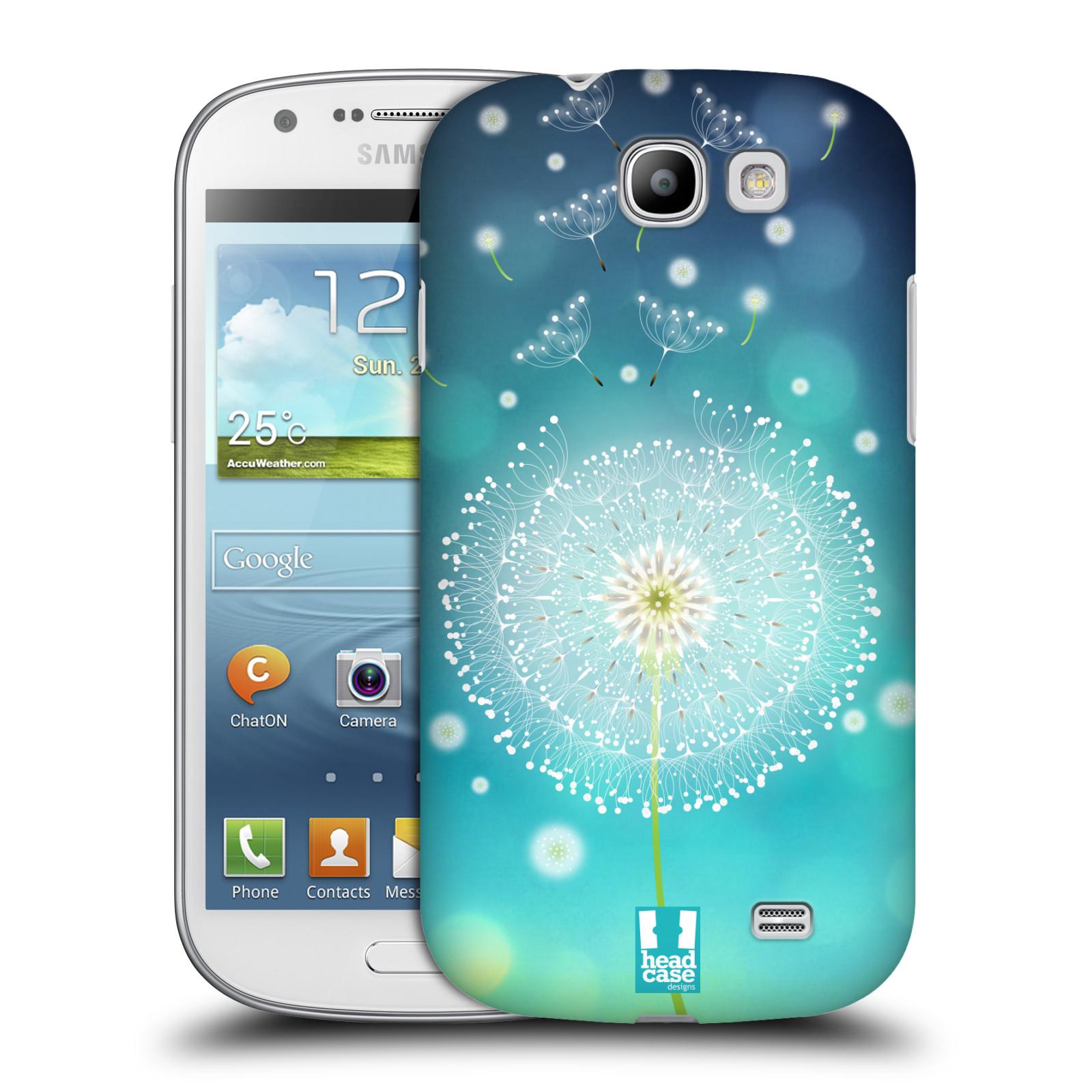 Plastové pouzdro na mobil Samsung Galaxy Express HEAD CASE Rozlétaná pampeliška (Kryt či obal na mobilní telefon Samsung Galaxy Express GT-i8730)