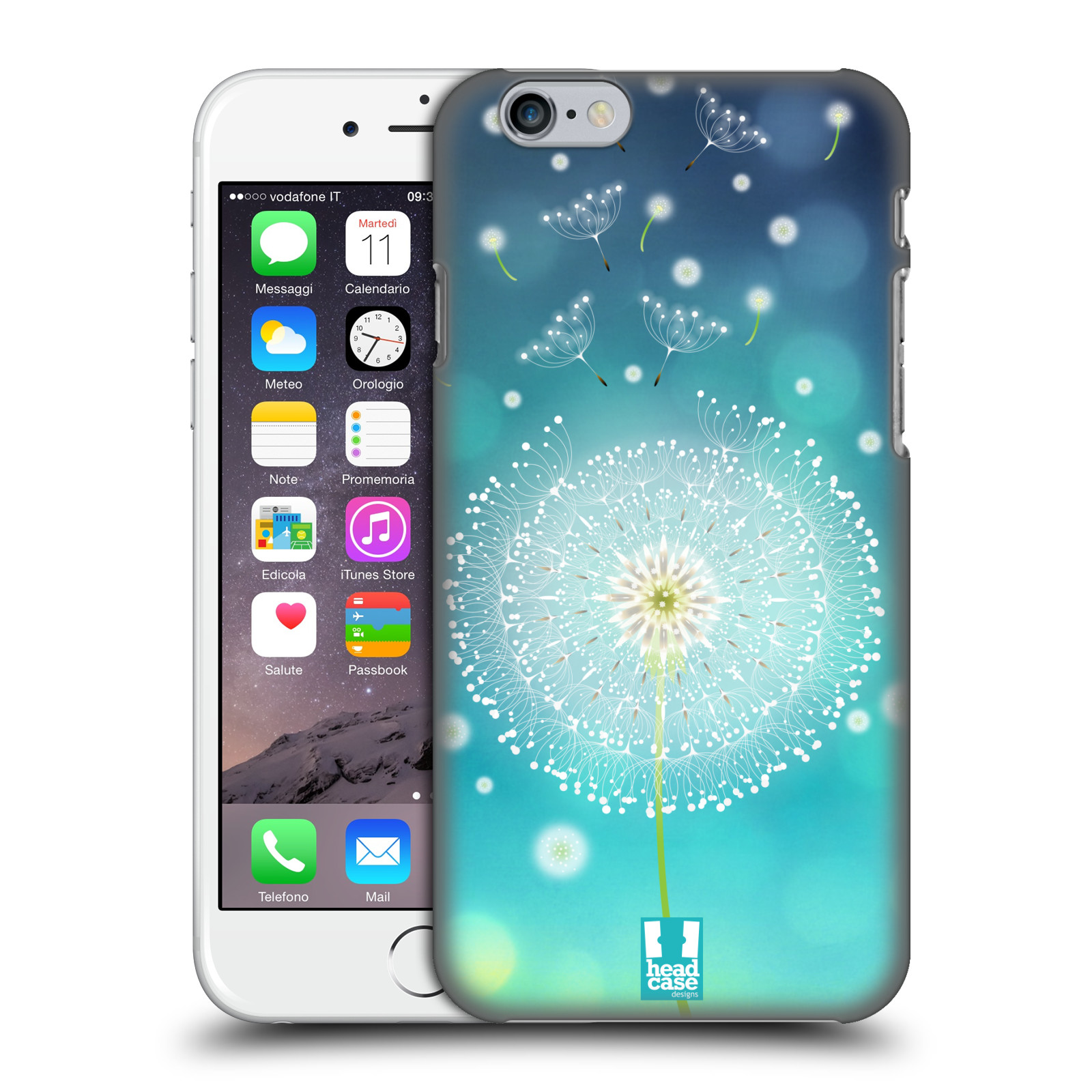 Plastové pouzdro na mobil Apple iPhone 6 HEAD CASE Rozlétaná pampeliška