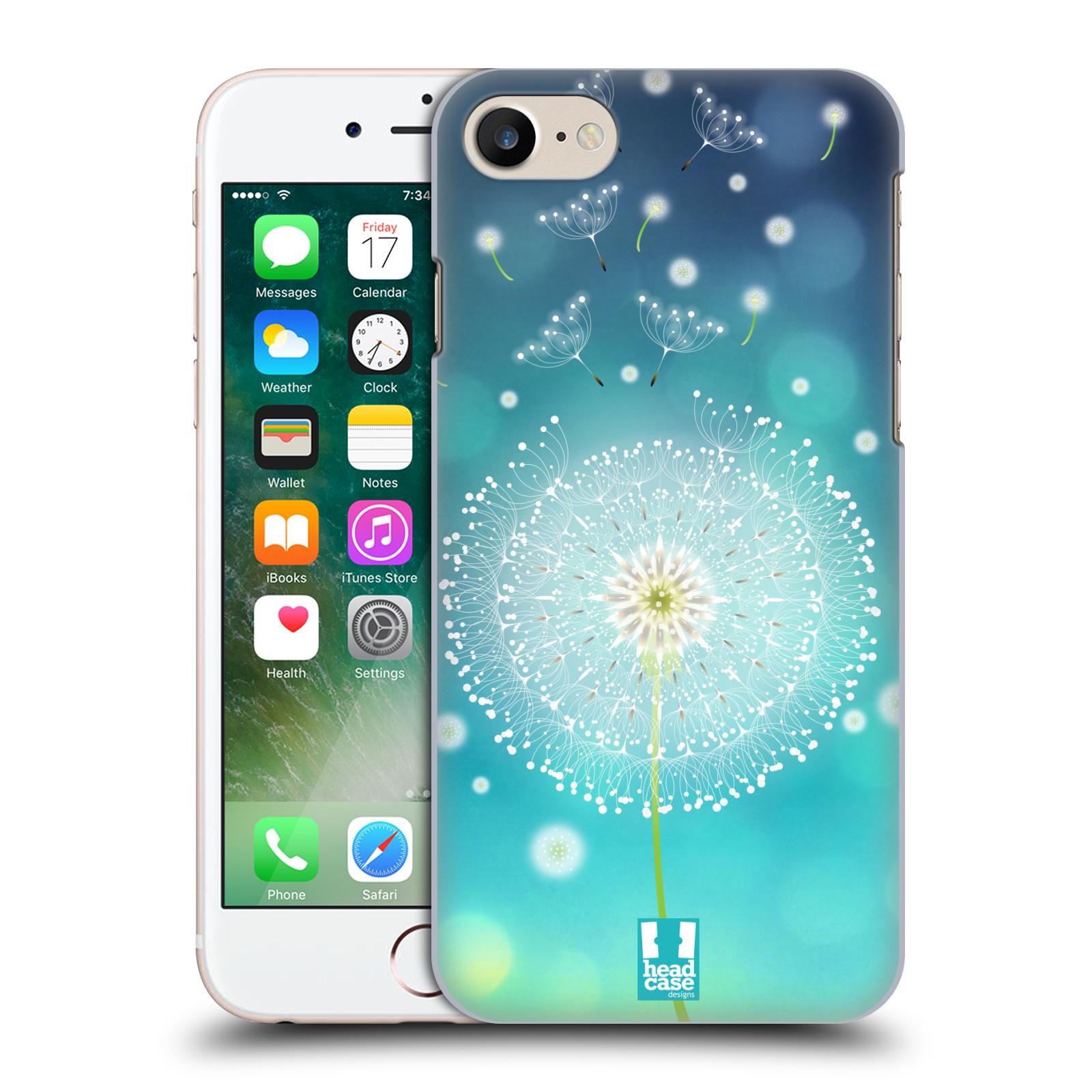 Plastové pouzdro na mobil Apple iPhone 7 HEAD CASE Rozlétaná pampeliška