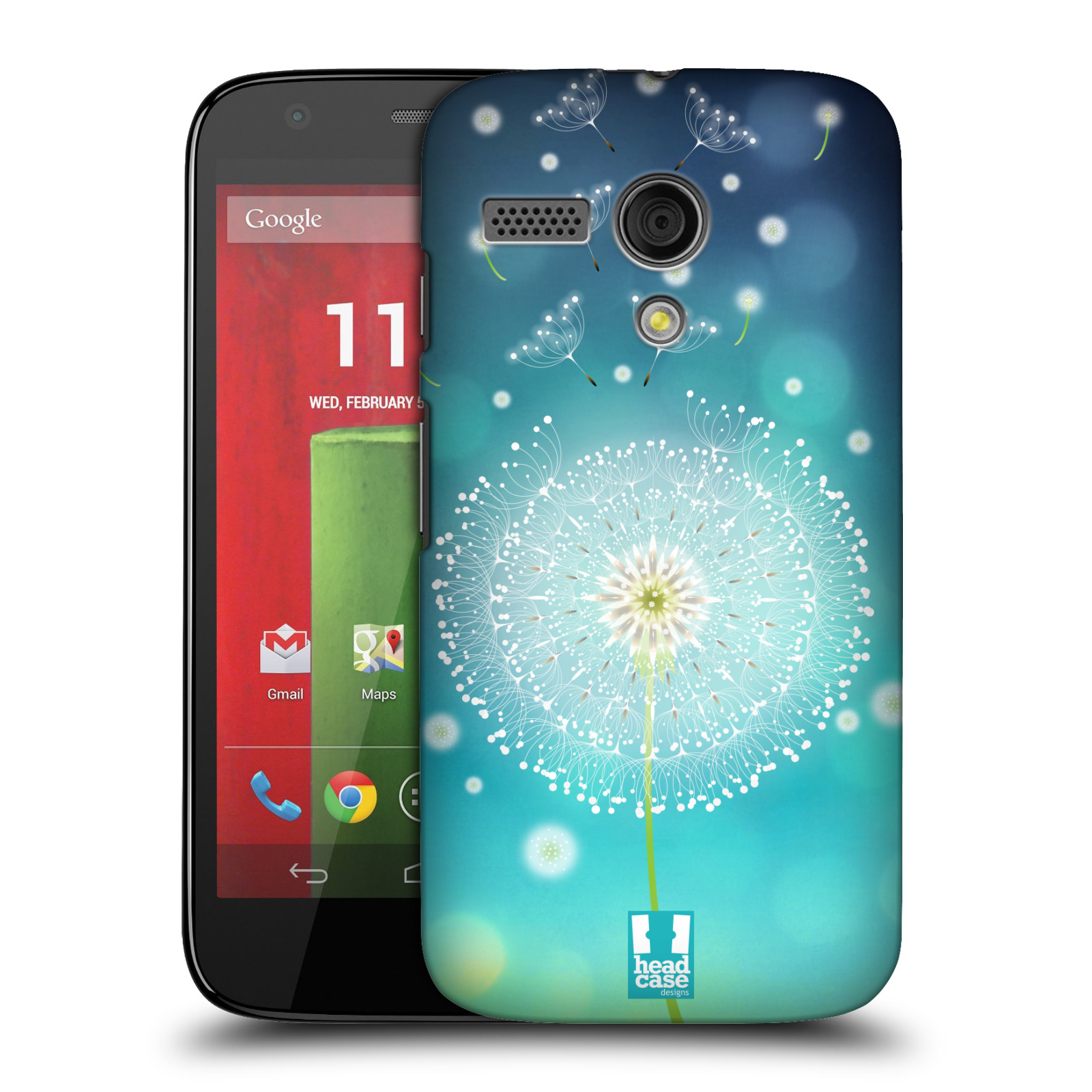 Plastové pouzdro na mobil Motorola Moto G HEAD CASE Rozlétaná pampeliška (Kryt či obal na mobilní telefon Motorola Moto G)