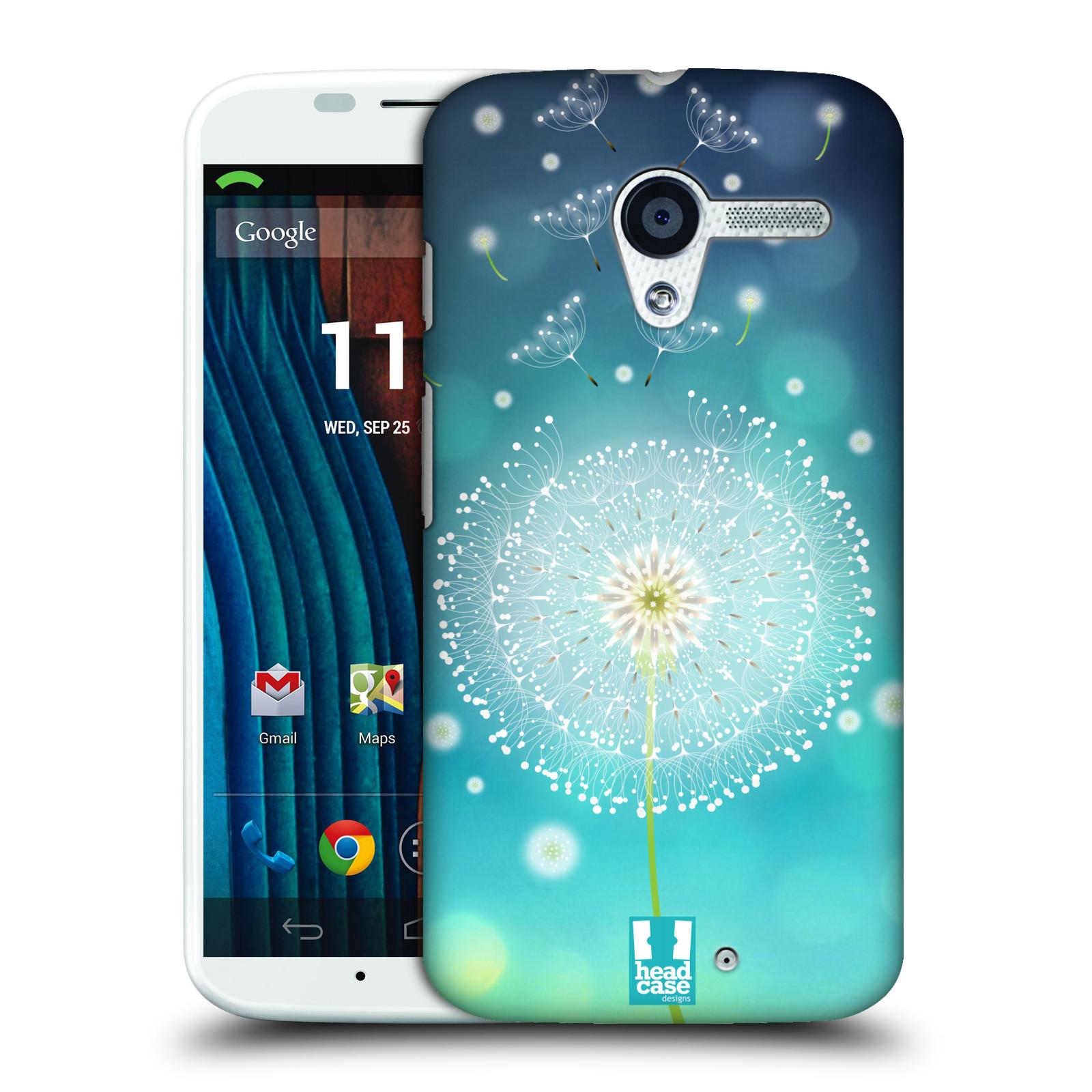Plastové pouzdro na mobil Motorola Moto X HEAD CASE Rozlétaná pampeliška (Kryt či obal na mobilní telefon Motorola Moto X)