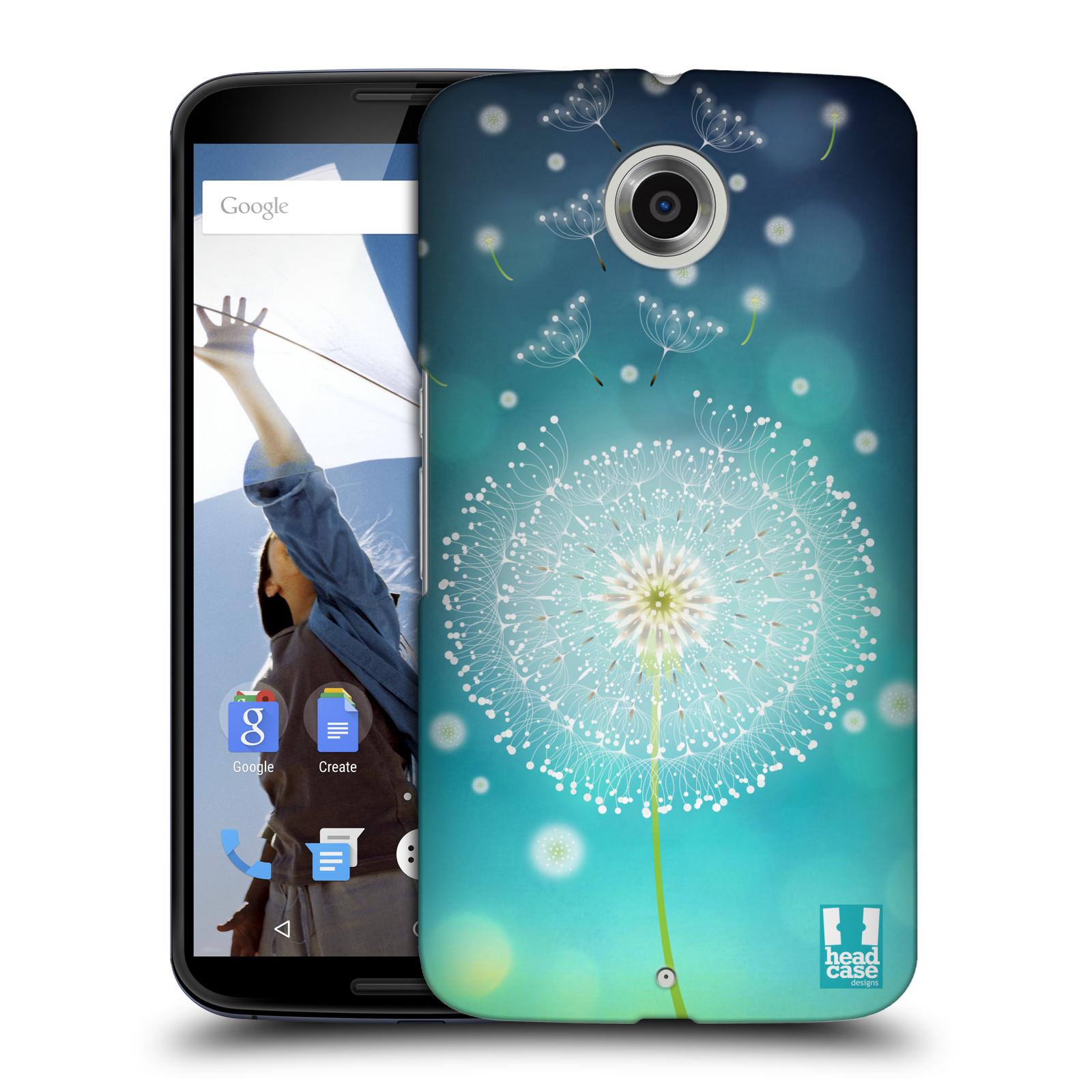 Plastové pouzdro na mobil Motorola Nexus 6 HEAD CASE Rozlétaná pampeliška (Kryt či obal na mobilní telefon Motorola Nexus 6)