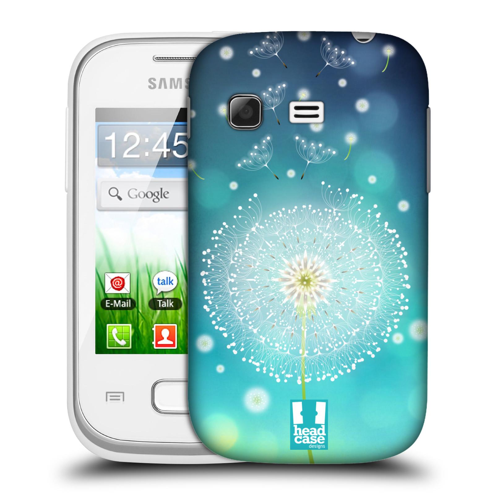 Plastové pouzdro na mobil Samsung Galaxy Pocket HEAD CASE Rozlétaná pampeliška (Kryt či obal na mobilní telefon Samsung Galaxy Pocket GT-S5300)