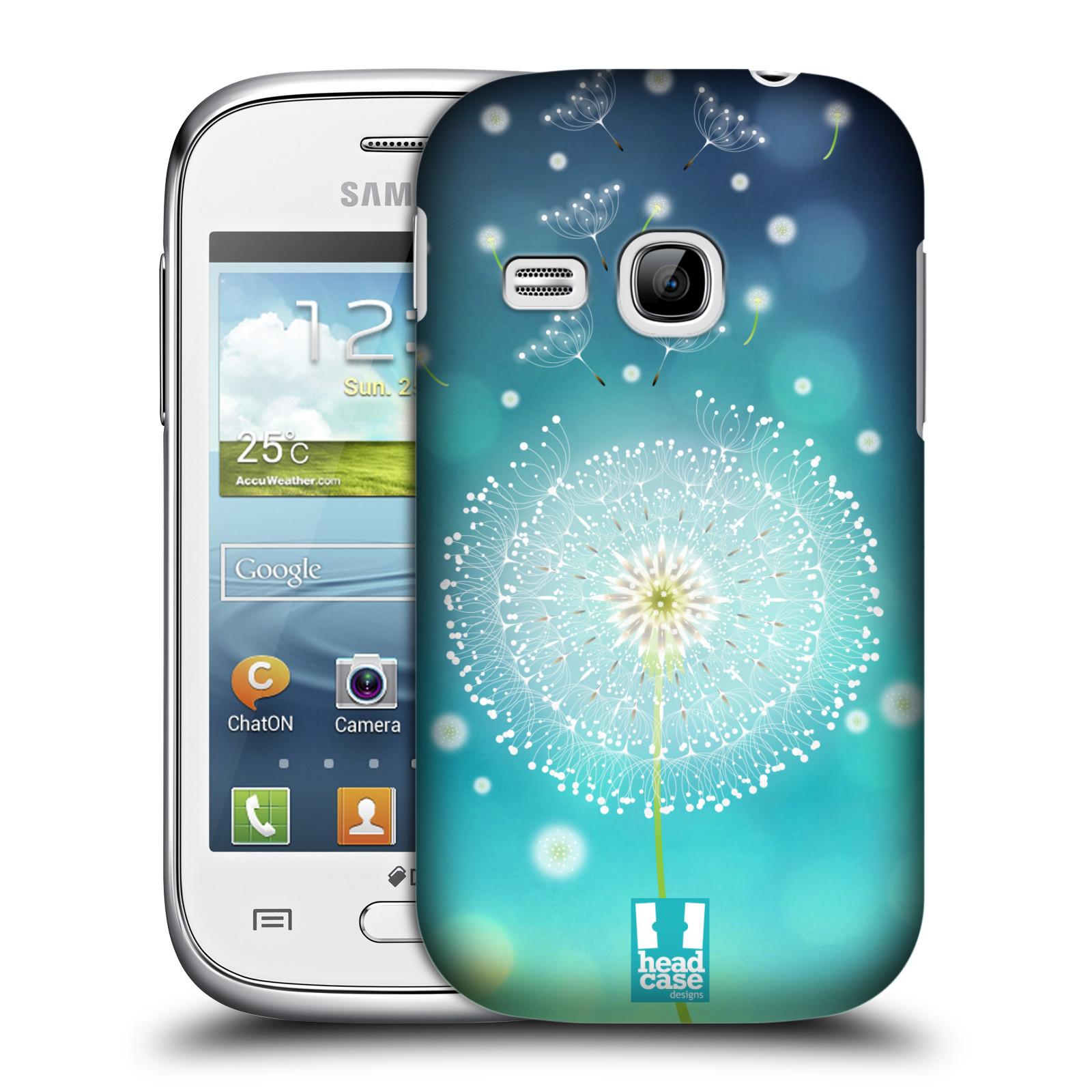 Plastové pouzdro na mobil Samsung Galaxy Young HEAD CASE Rozlétaná pampeliška (Kryt či obal na mobilní telefon Samsung Galaxy Young GT-S6310)