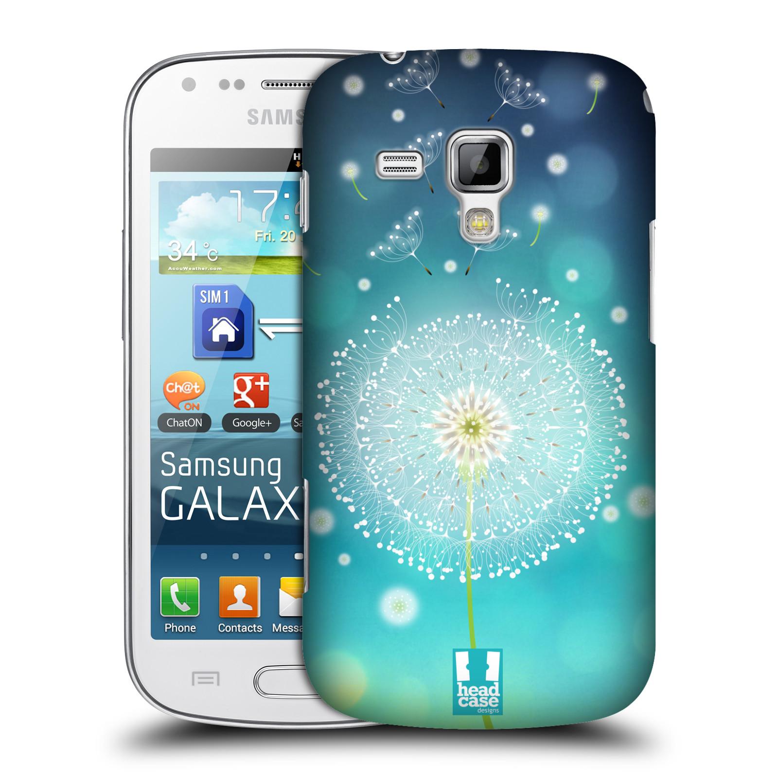 Plastové pouzdro na mobil Samsung Galaxy S Duos HEAD CASE Rozlétaná pampeliška (Kryt či obal na mobilní telefon Samsung Galaxy S Duos GT-S7562)
