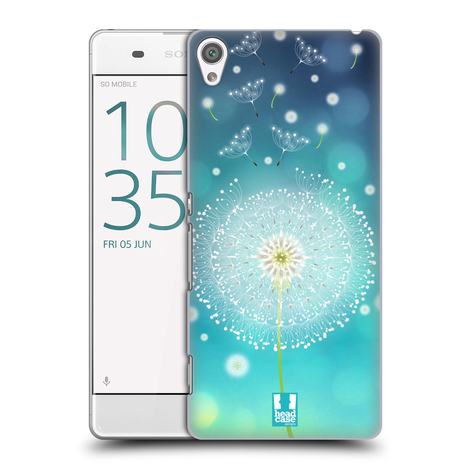 Plastové pouzdro na mobil Sony Xperia XA HEAD CASE Rozlétaná pampeliška