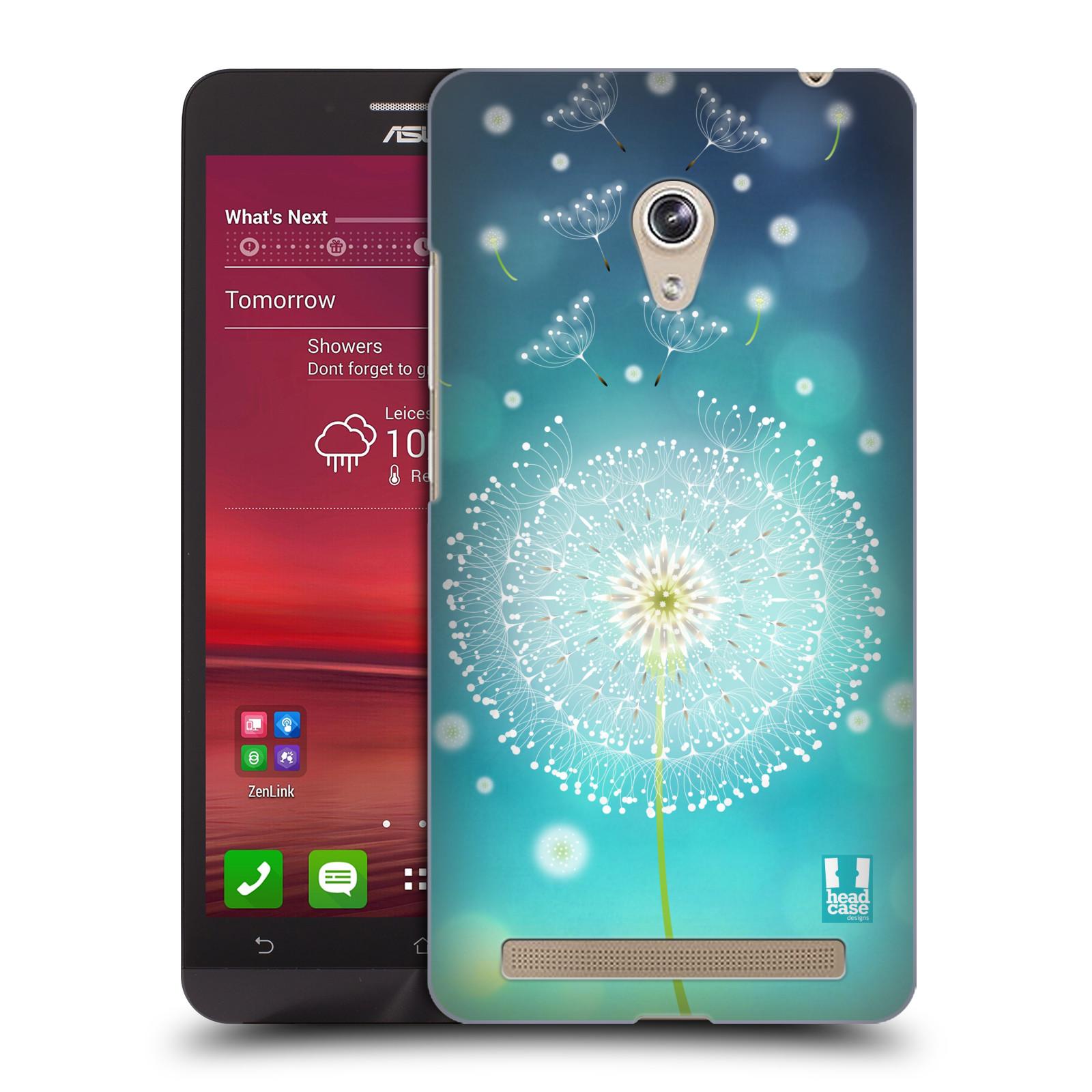 Plastové pouzdro na mobil Asus Zenfone 6 HEAD CASE Rozlétaná pampeliška (Kryt či obal na mobilní telefon Asus Zenfone 6 A600CG / A601CG)