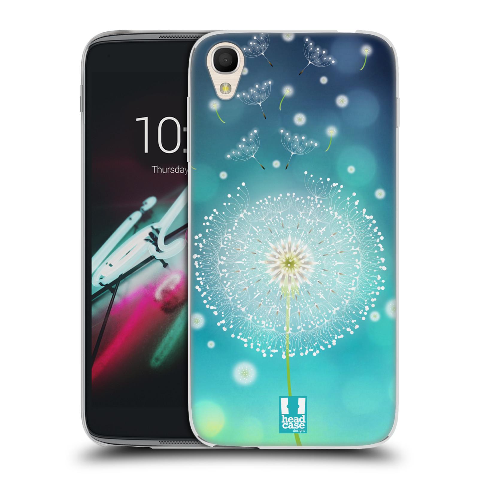 "Silikonové pouzdro na mobil Alcatel One Touch 6039Y Idol 3 HEAD CASE Rozlétaná pampeliška (Silikonový kryt či obal na mobilní telefon Alcatel One Touch Idol 3 OT-6039Y s 4,7"" displejem)"