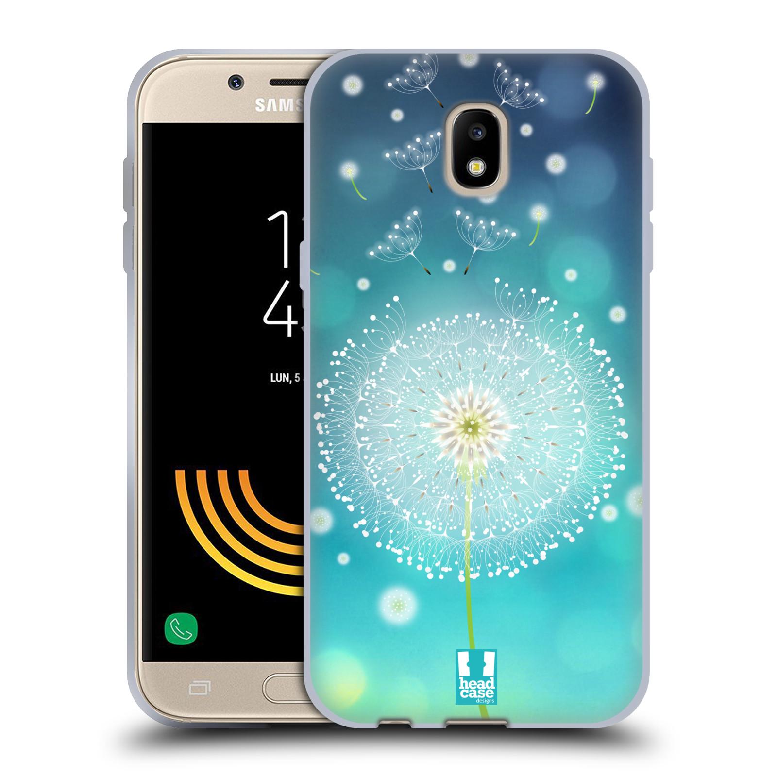 Silikonové pouzdro na mobil Samsung Galaxy J5 (2017) - Head Case - Rozlétaná pampeliška