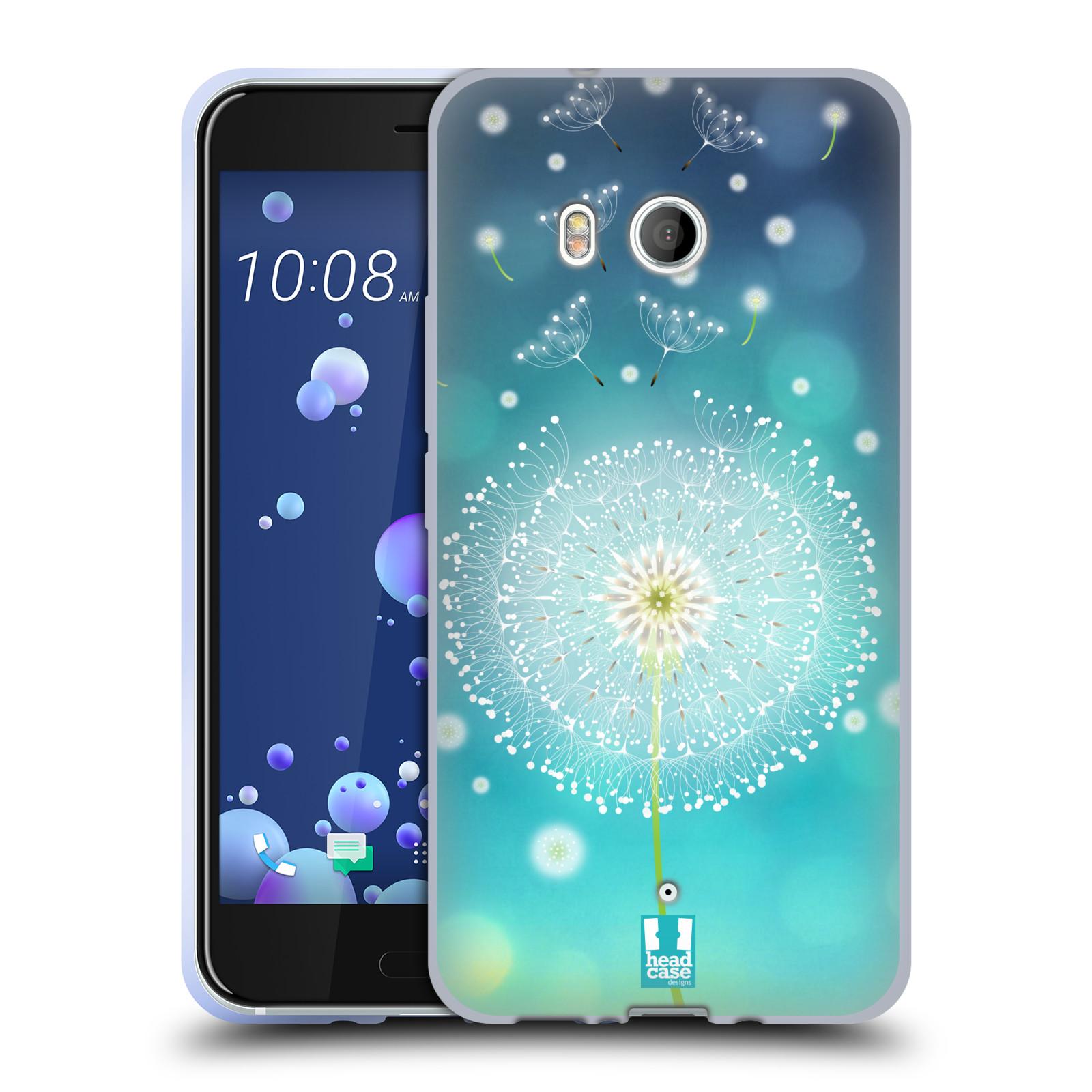 Silikonové pouzdro na mobil HTC U11 - Head Case - Rozlétaná pampeliška