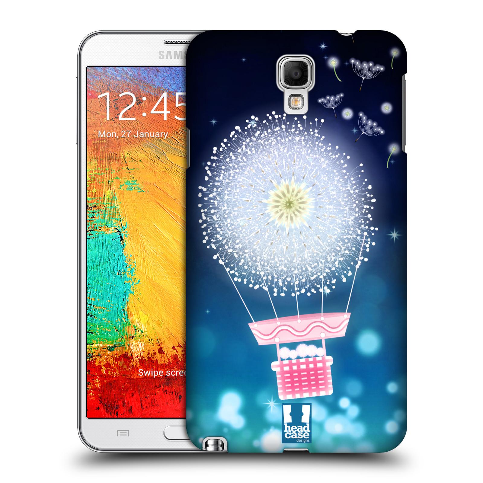 Plastové pouzdro na mobil Samsung Galaxy Note 3 Neo HEAD CASE Pampeliškový balón (Kryt či obal na mobilní telefon Samsung Galaxy Note 3 Neo SM-N7505)