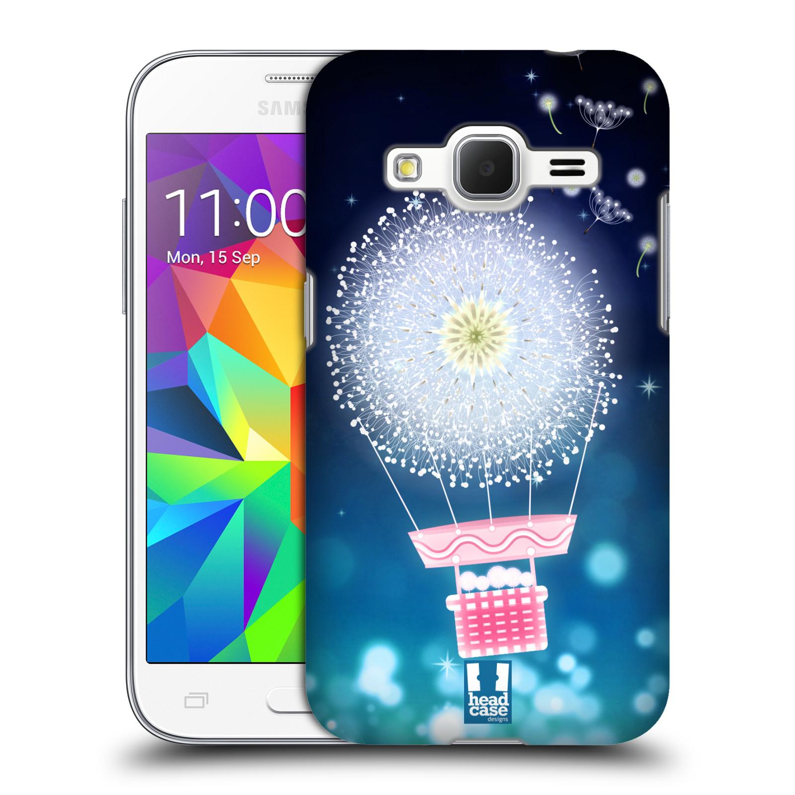 Plastové pouzdro na mobil Samsung Galaxy Core Prime LTE HEAD CASE Pampeliškový balón (Kryt či obal na mobilní telefon Samsung Galaxy Core Prime LTE SM-G360)