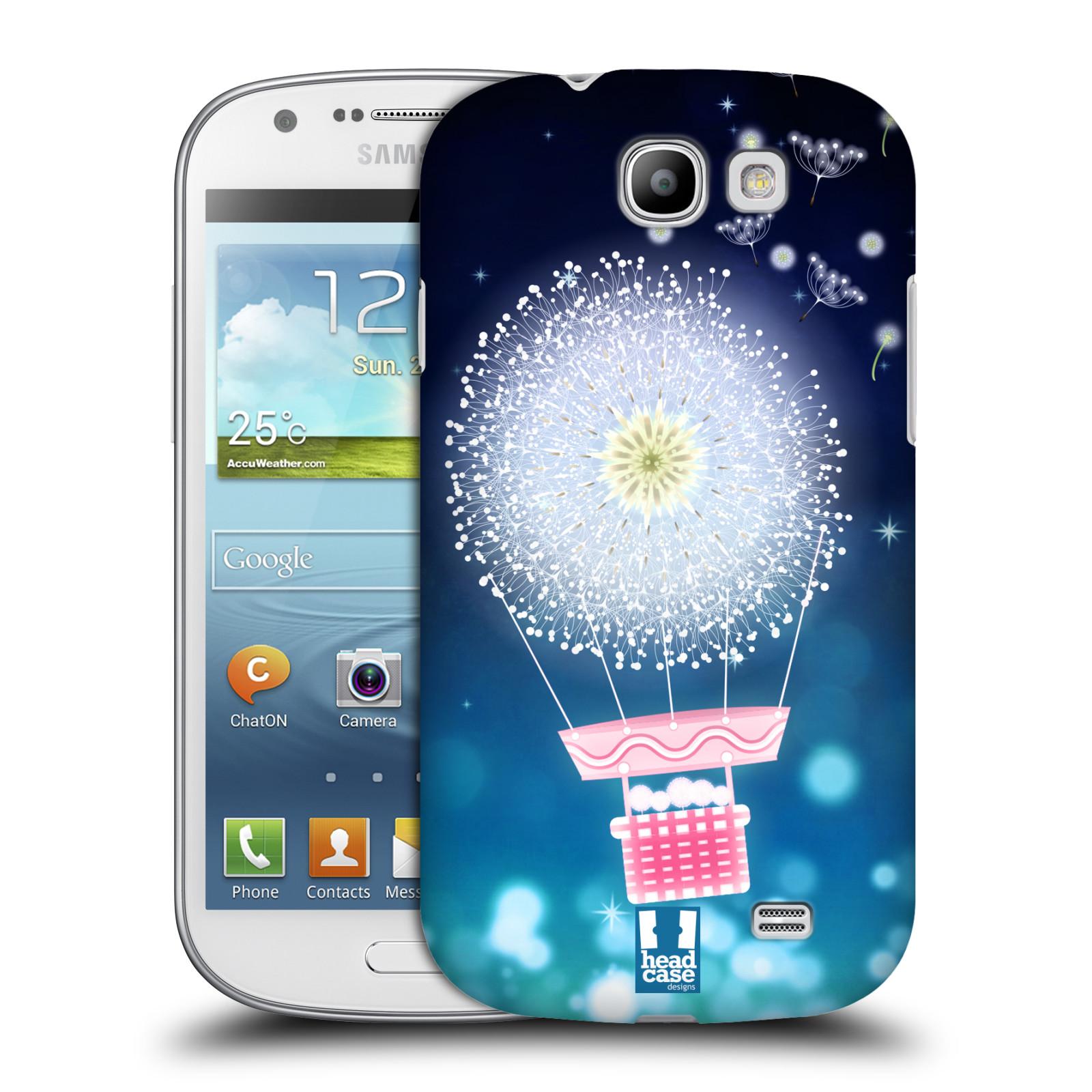 Plastové pouzdro na mobil Samsung Galaxy Express HEAD CASE Pampeliškový balón (Kryt či obal na mobilní telefon Samsung Galaxy Express GT-i8730)