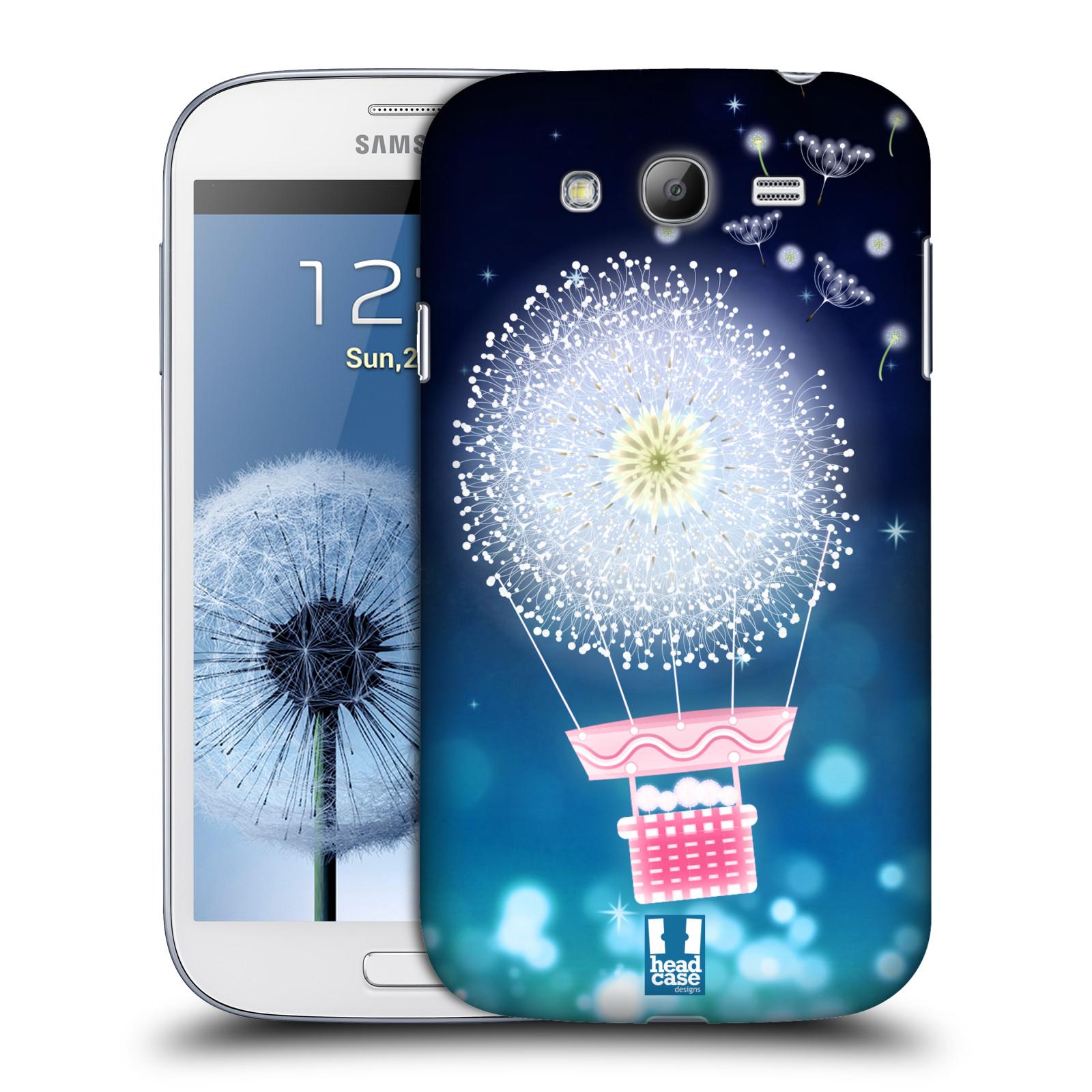 Plastové pouzdro na mobil Samsung Galaxy Grand Neo Plus HEAD CASE Pampeliškový balón (Kryt či obal na mobilní telefon Samsung Galaxy Grand Neo Plus GT-i9060i)