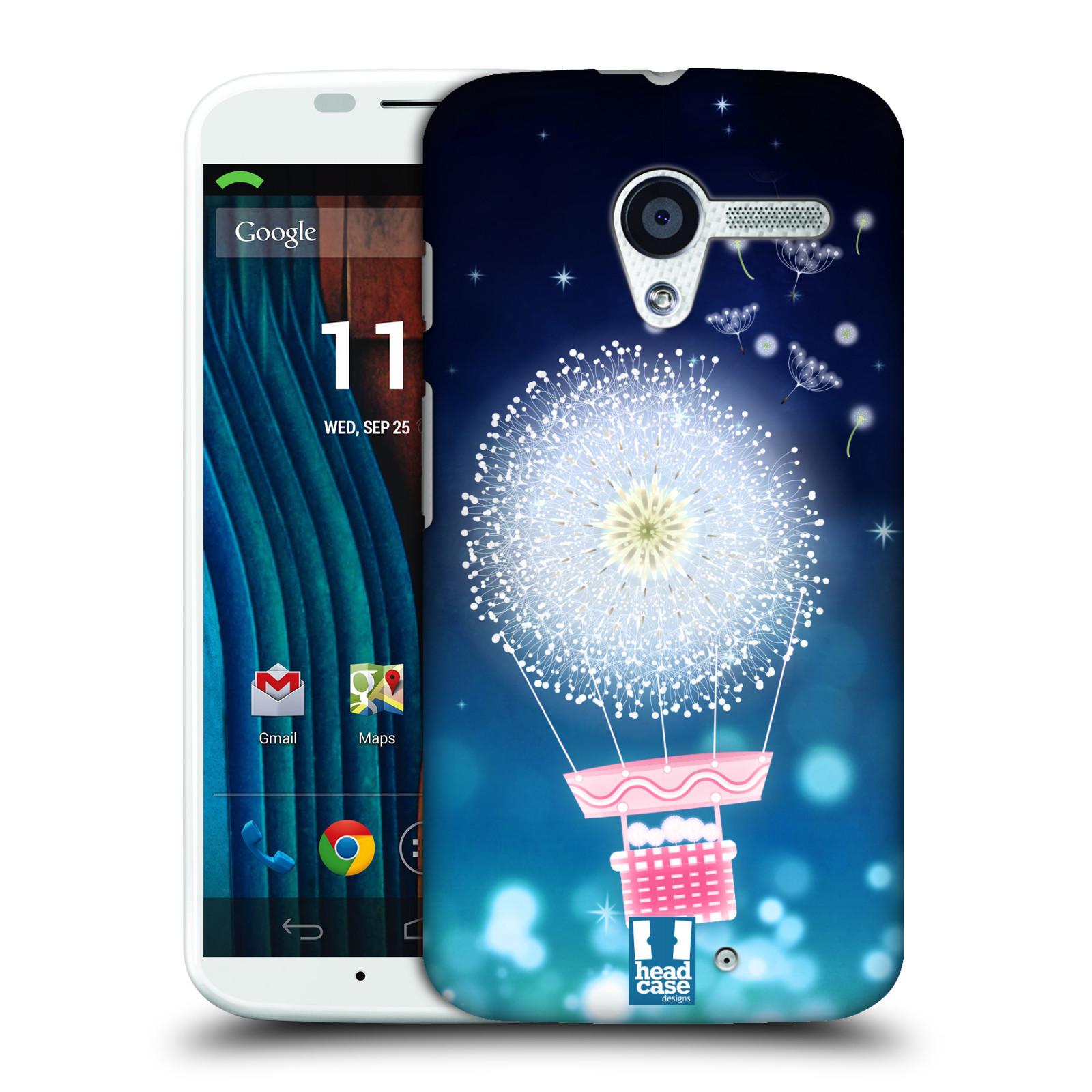 Plastové pouzdro na mobil Motorola Moto X HEAD CASE Pampeliškový balón (Kryt či obal na mobilní telefon Motorola Moto X)