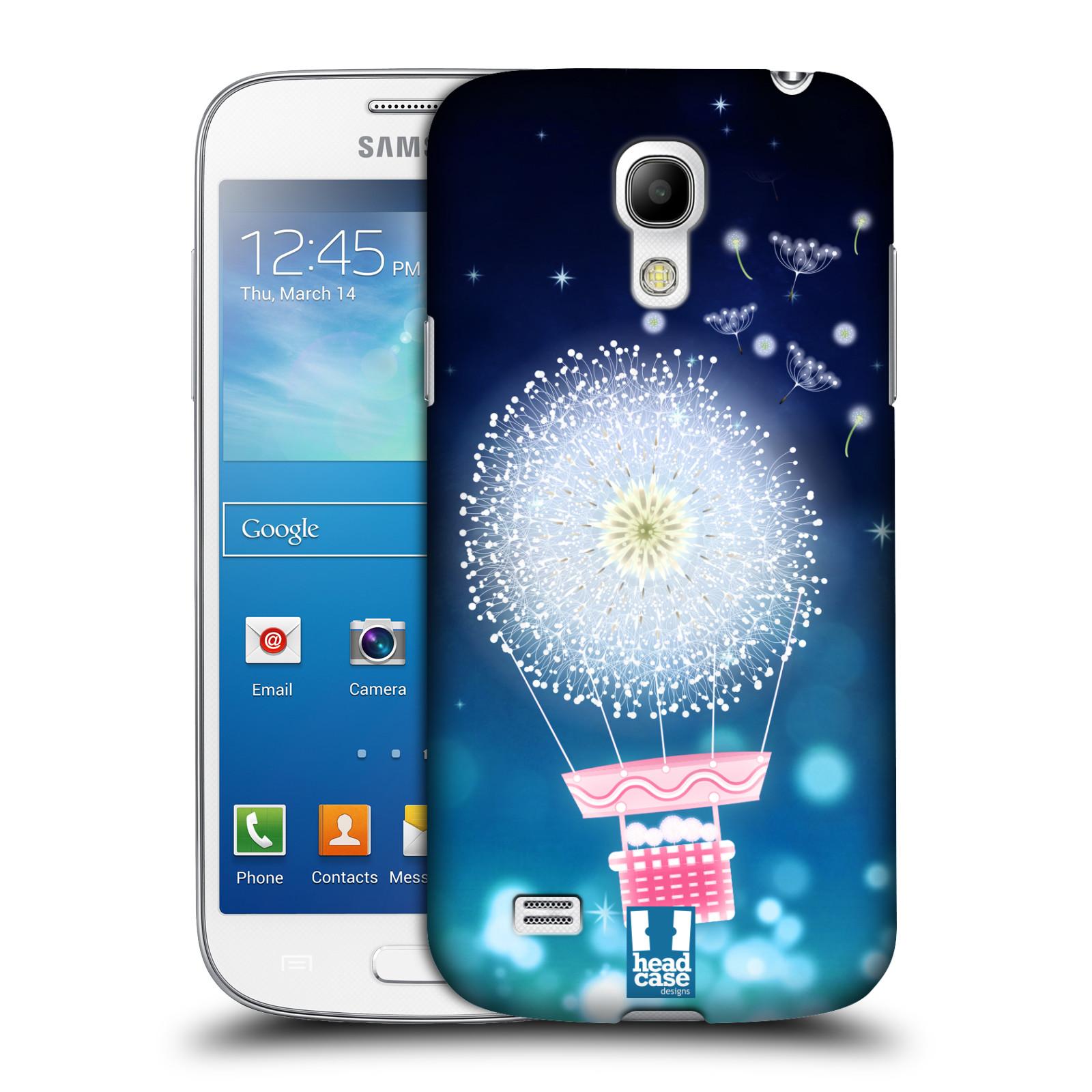 Plastové pouzdro na mobil Samsung Galaxy S4 Mini HEAD CASE Pampeliškový balón (Kryt či obal na mobilní telefon Samsung Galaxy S4 Mini GT-i9195 / i9190)