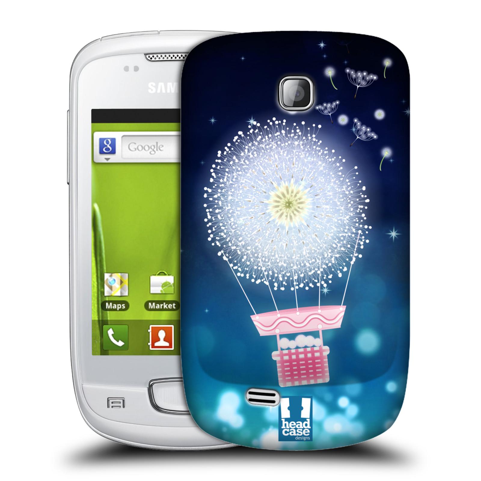 Plastové pouzdro na mobil Samsung Galaxy Mini HEAD CASE Pampeliškový balón (Kryt či obal na mobilní telefon Samsung Galaxy Mini GT-S5570 / GT-S5570i)