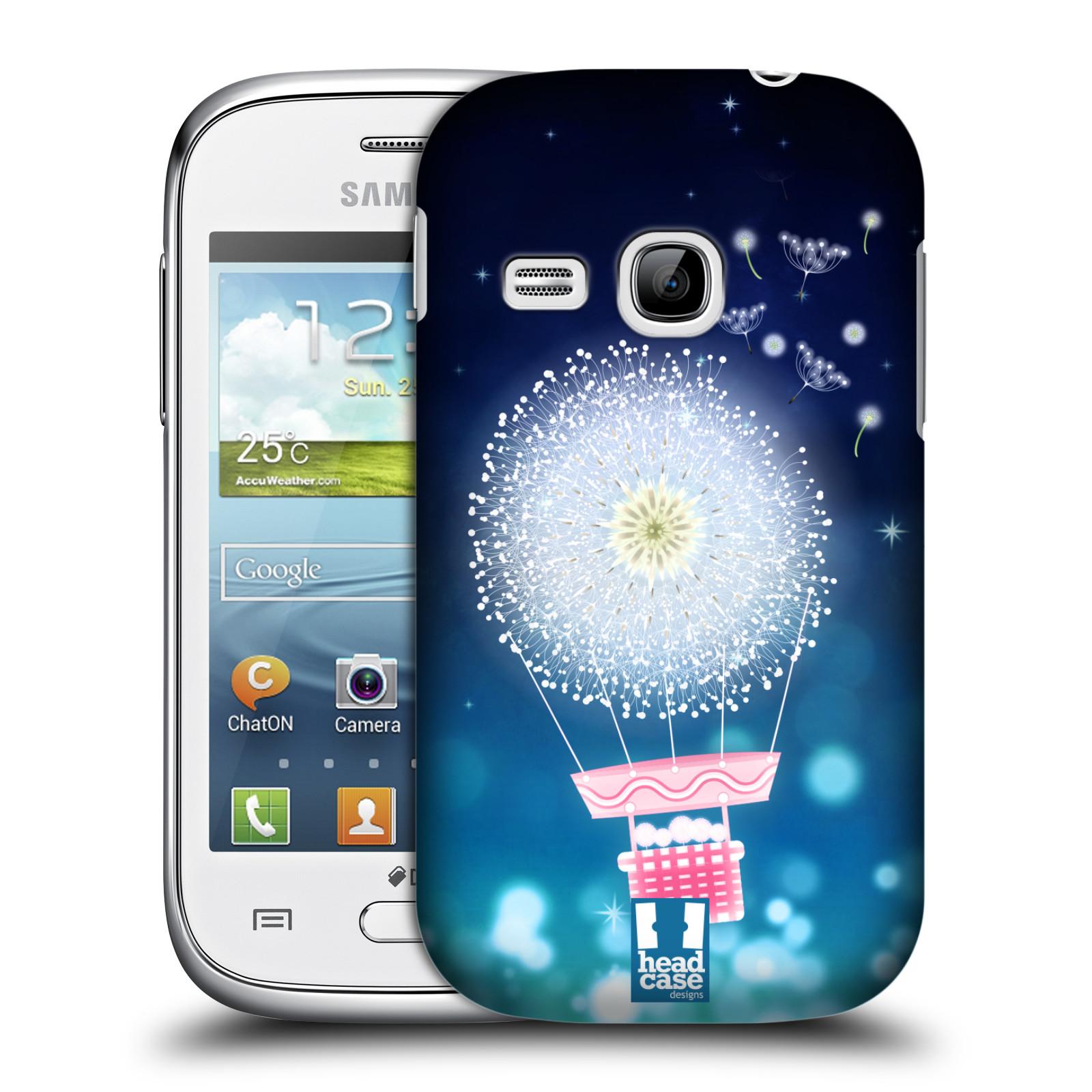 Plastové pouzdro na mobil Samsung Galaxy Young HEAD CASE Pampeliškový balón (Kryt či obal na mobilní telefon Samsung Galaxy Young GT-S6310)