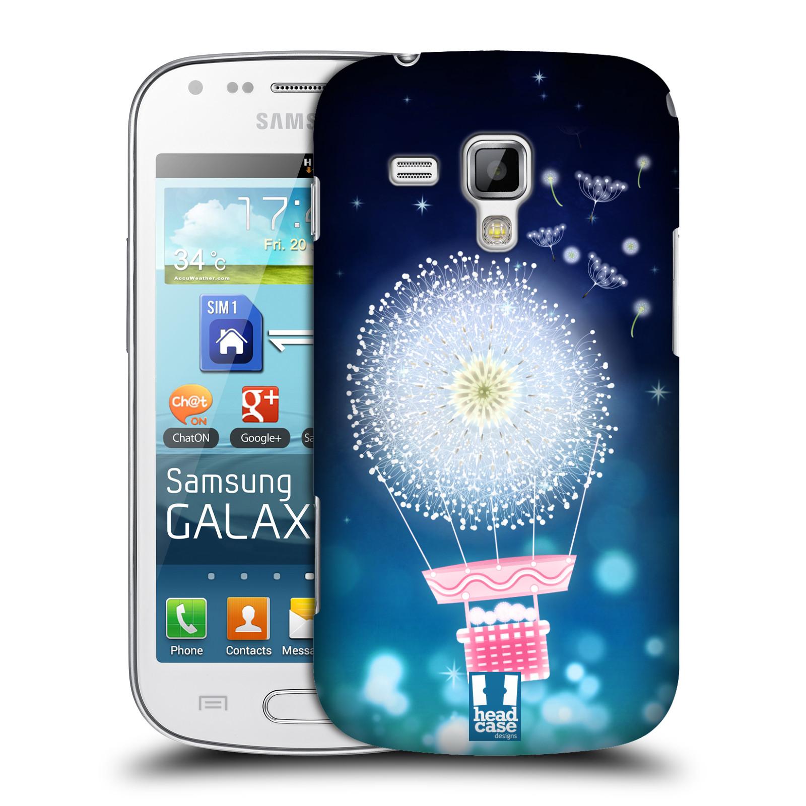 Plastové pouzdro na mobil Samsung Galaxy Trend Plus HEAD CASE Pampeliškový balón (Kryt či obal na mobilní telefon Samsung Galaxy Trend Plus GT-S7580)