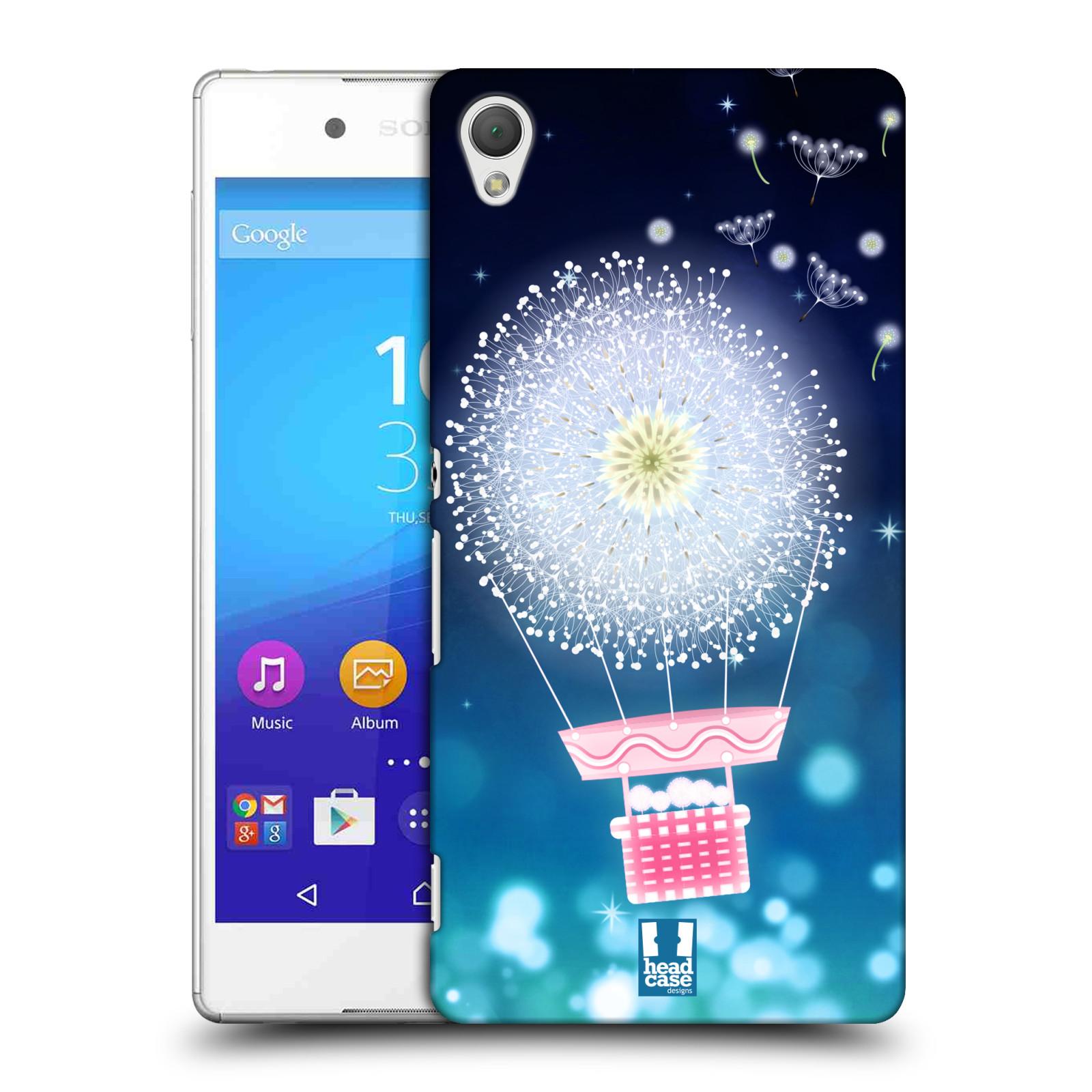 Plastové pouzdro na mobil Sony Xperia Z3+ (Plus) HEAD CASE Pampeliškový balón (Kryt či obal na mobilní telefon Sony Xperia Z3+ a Sony Xperia Z4 )