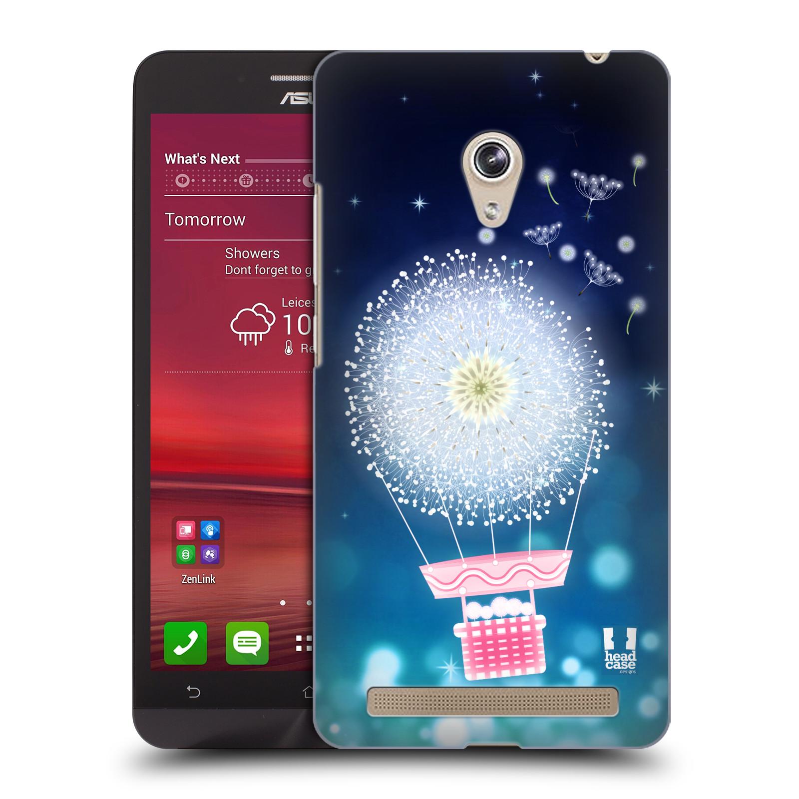 Plastové pouzdro na mobil Asus Zenfone 6 HEAD CASE Pampeliškový balón (Kryt či obal na mobilní telefon Asus Zenfone 6 A600CG / A601CG)