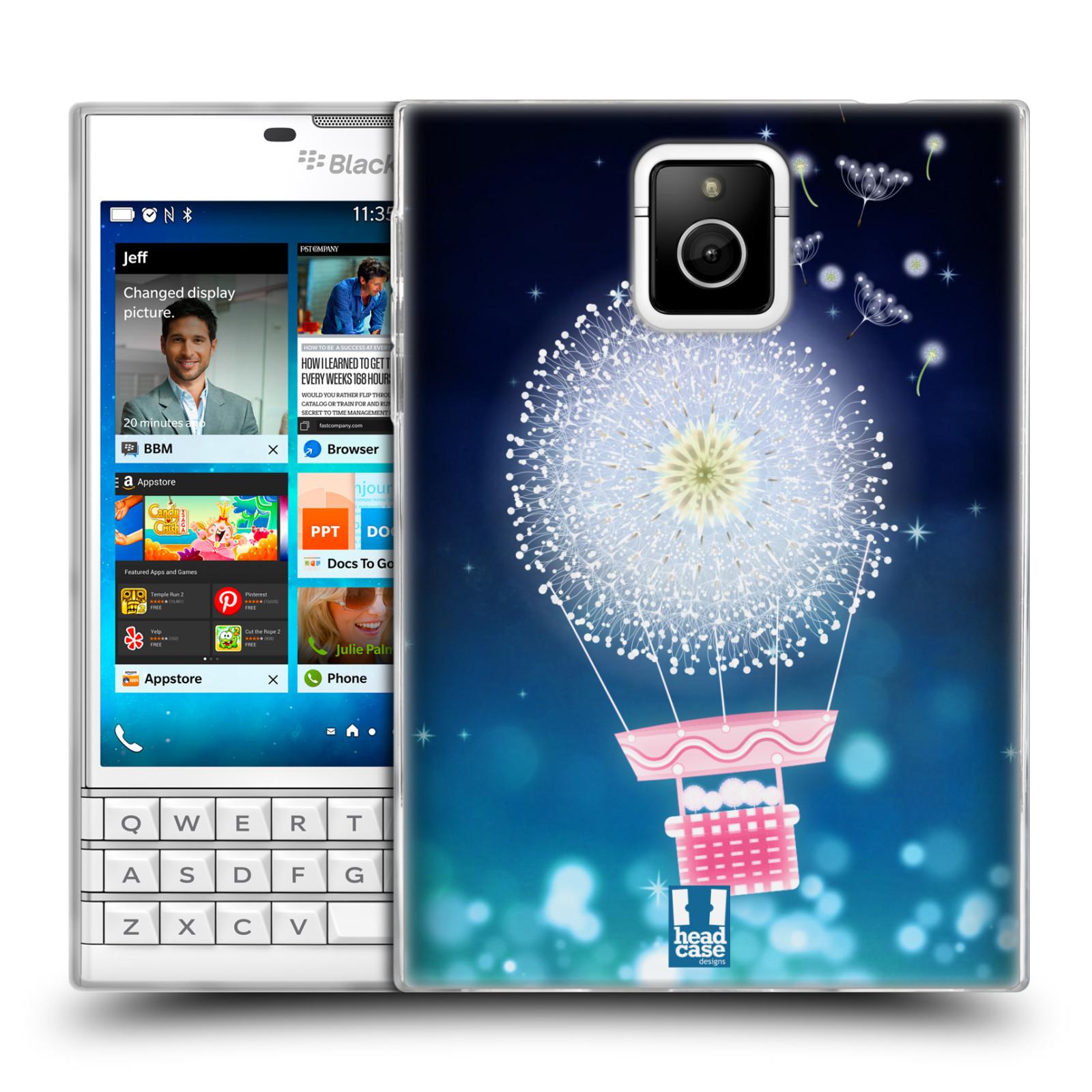Silikonové pouzdro na mobil Blackberry PASSPORT HEAD CASE Pampeliškový balón (Silikonový kryt či obal na mobilní telefon Blackberry PASSPORT)