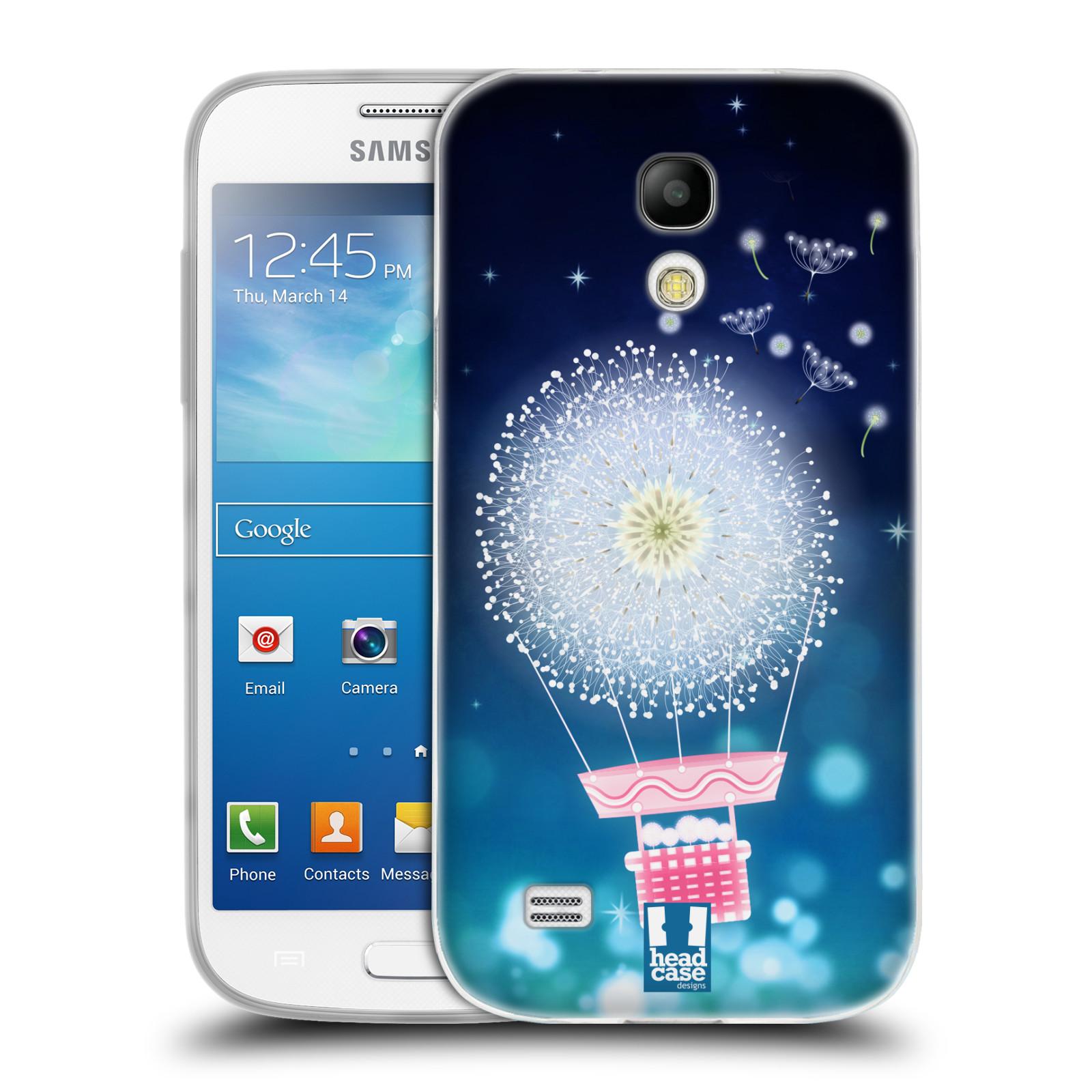 Silikonové pouzdro na mobil Samsung Galaxy S4 Mini HEAD CASE Pampeliškový balón (Silikonový kryt či obal na mobilní telefon Samsung Galaxy S4 Mini GT-i9195 / i9190)