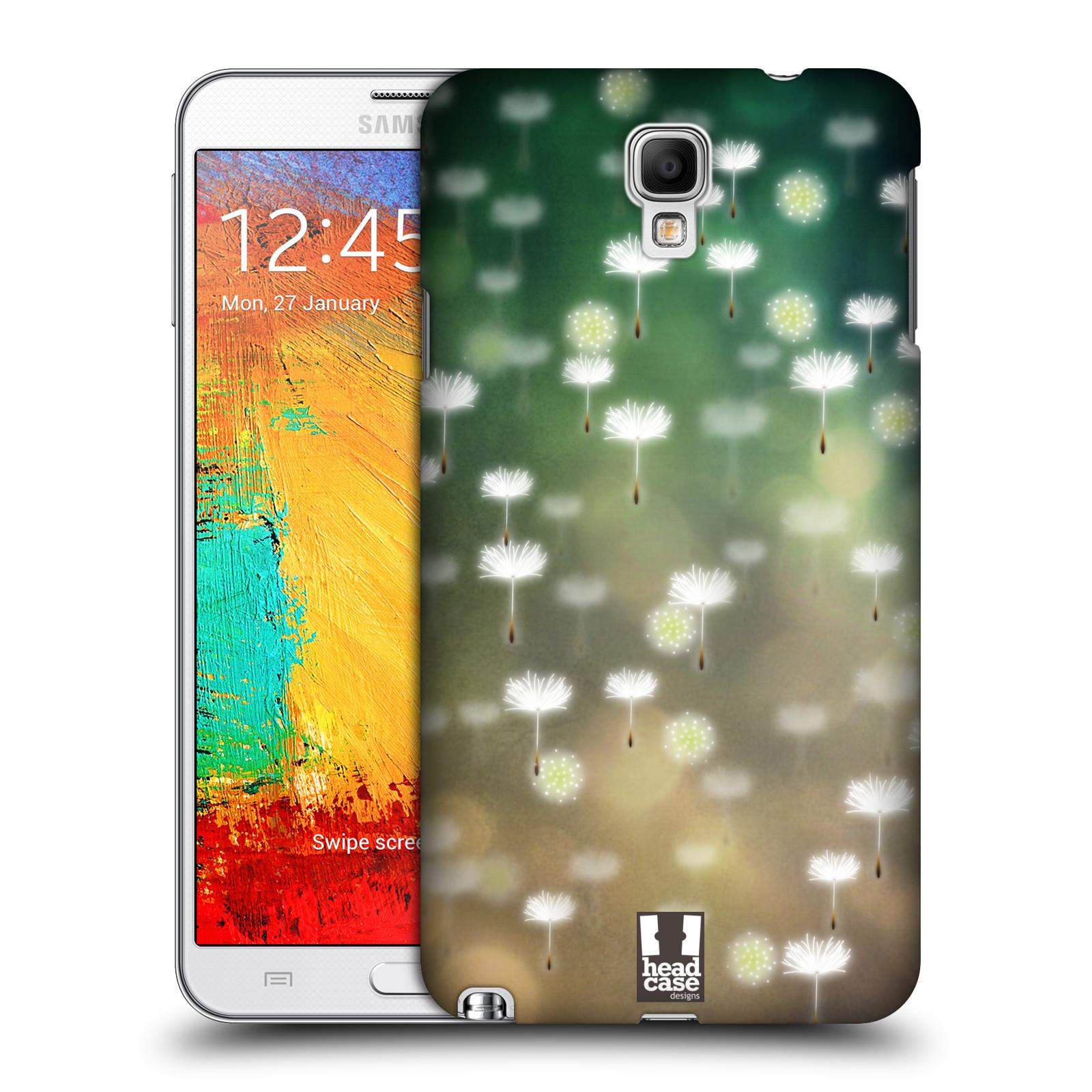 Plastové pouzdro na mobil Samsung Galaxy Note 3 Neo HEAD CASE Pampeliškové padáčky (Kryt či obal na mobilní telefon Samsung Galaxy Note 3 Neo SM-N7505)