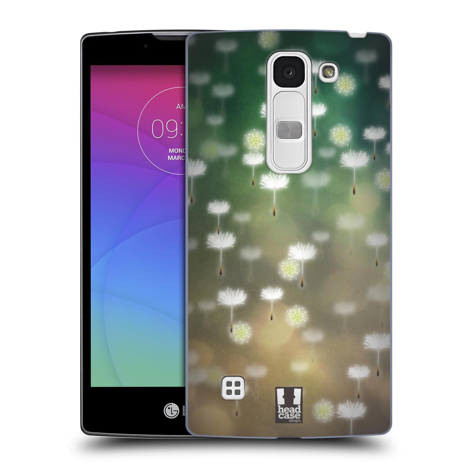Plastové pouzdro na mobil LG Spirit LTE HEAD CASE Pampeliškové padáčky (Kryt či obal na mobilní telefon LG Spirit H420 a LG Spirit LTE H440N)
