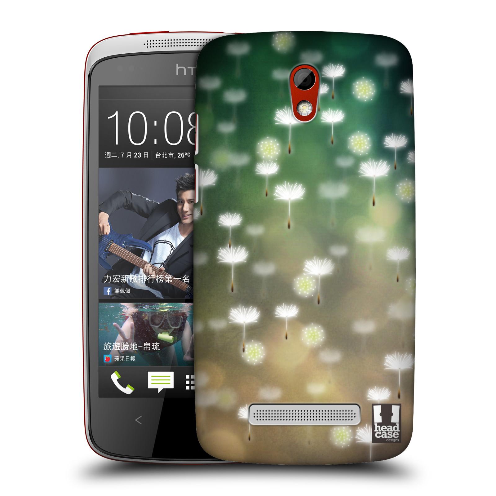 Plastové pouzdro na mobil HTC Desire 500 HEAD CASE Pampeliškové padáčky (Kryt či obal na mobilní telefon HTC Desire 500)
