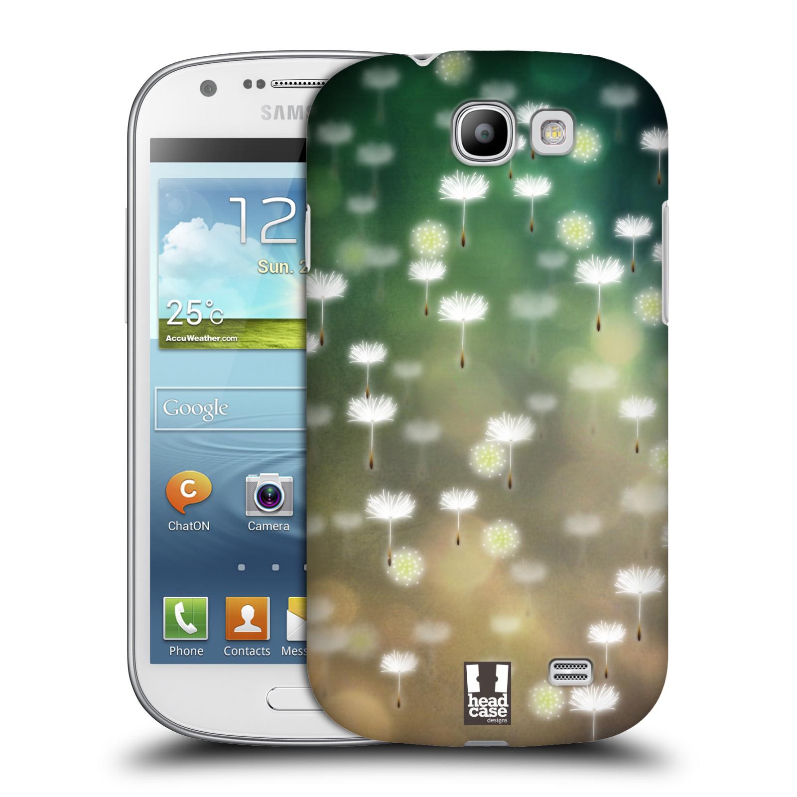 Plastové pouzdro na mobil Samsung Galaxy Express HEAD CASE Pampeliškové padáčky (Kryt či obal na mobilní telefon Samsung Galaxy Express GT-i8730)