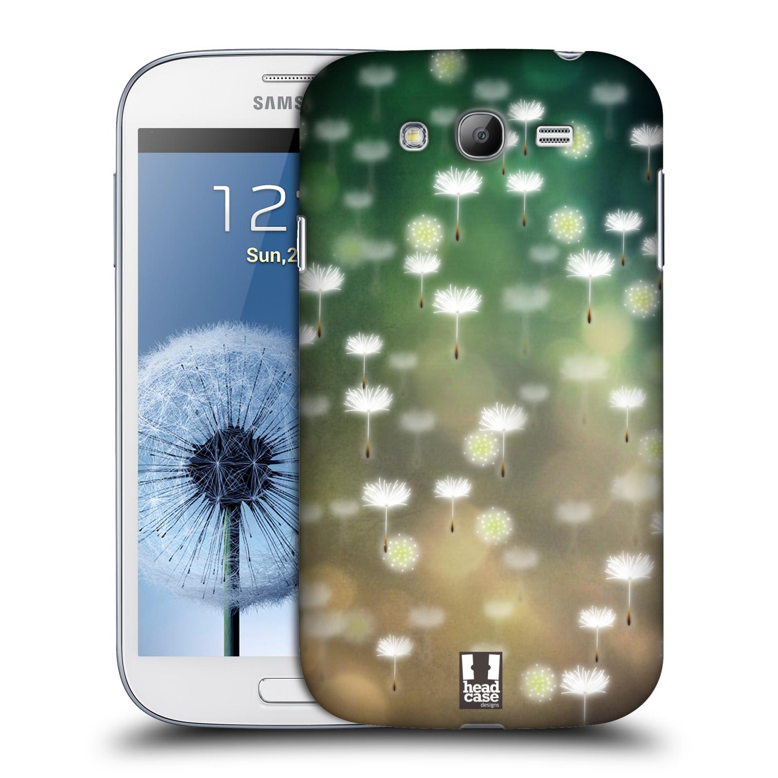 Plastové pouzdro na mobil Samsung Galaxy Grand Neo Plus HEAD CASE Pampeliškové padáčky (Kryt či obal na mobilní telefon Samsung Galaxy Grand Neo Plus GT-i9060i)